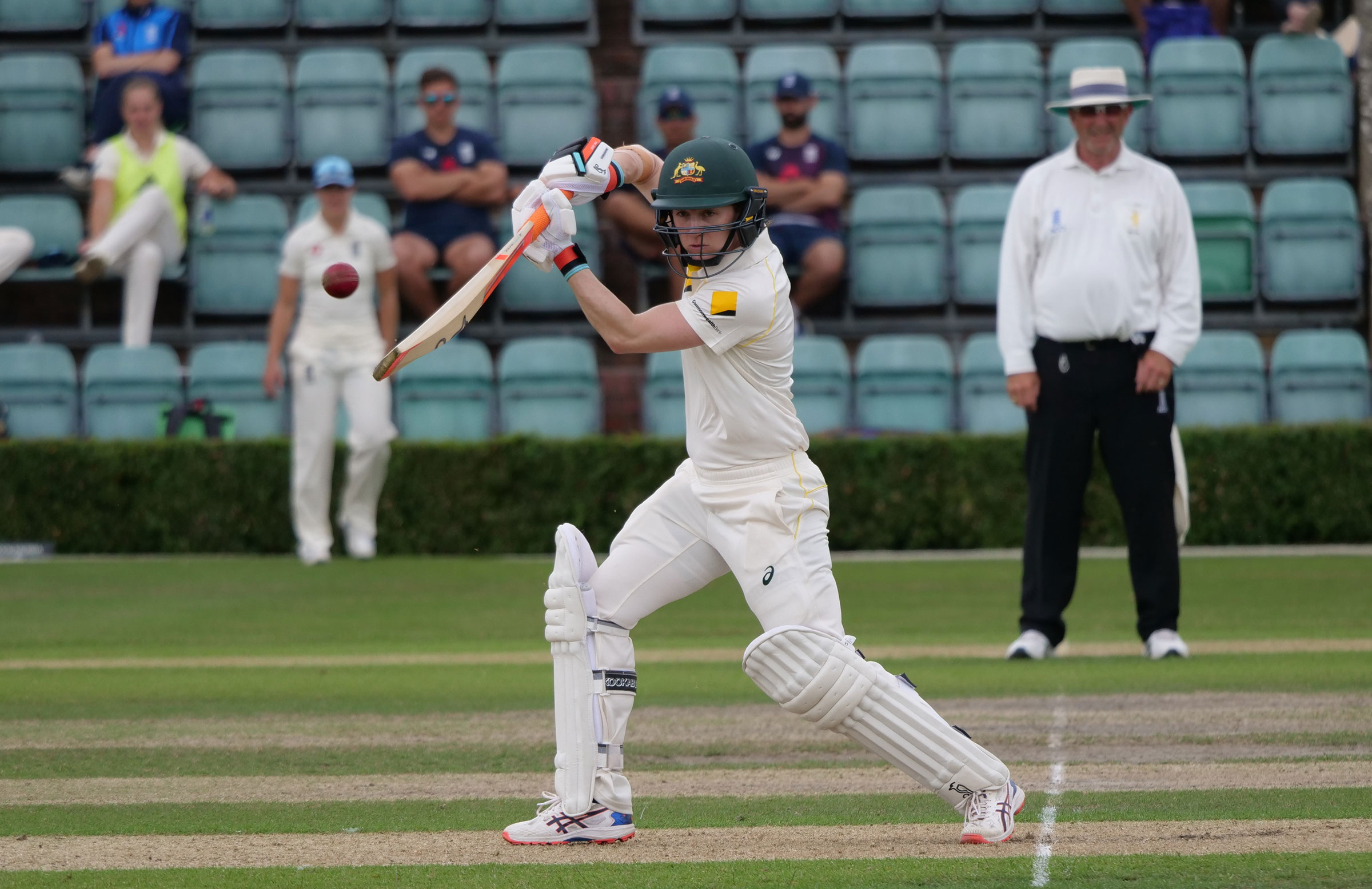 Rachael Haynes looked comfortable at the crease in her 47 retired // cricket.com.au