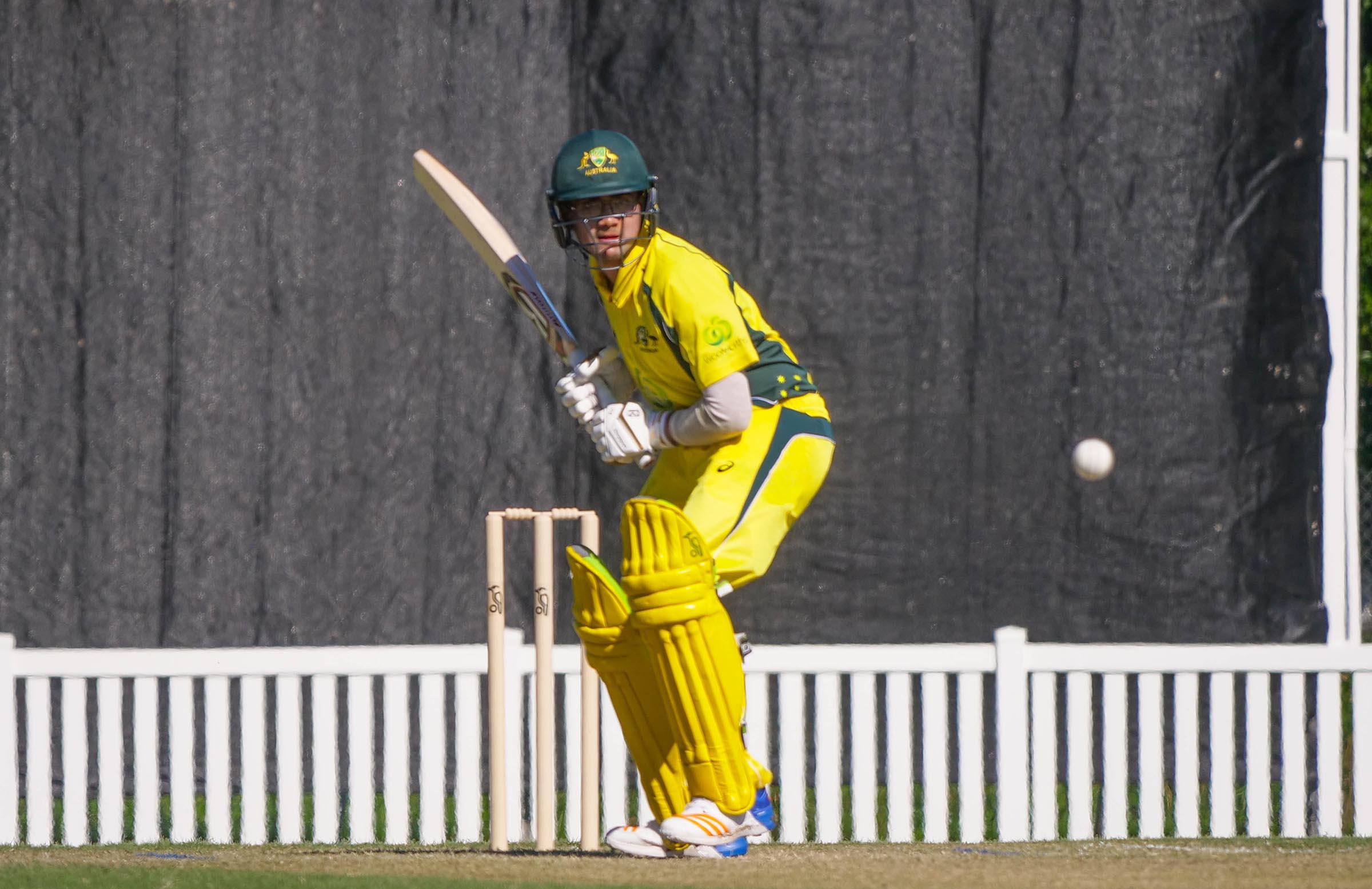 Yuvraj in action against New Zealand // cricket.com.au