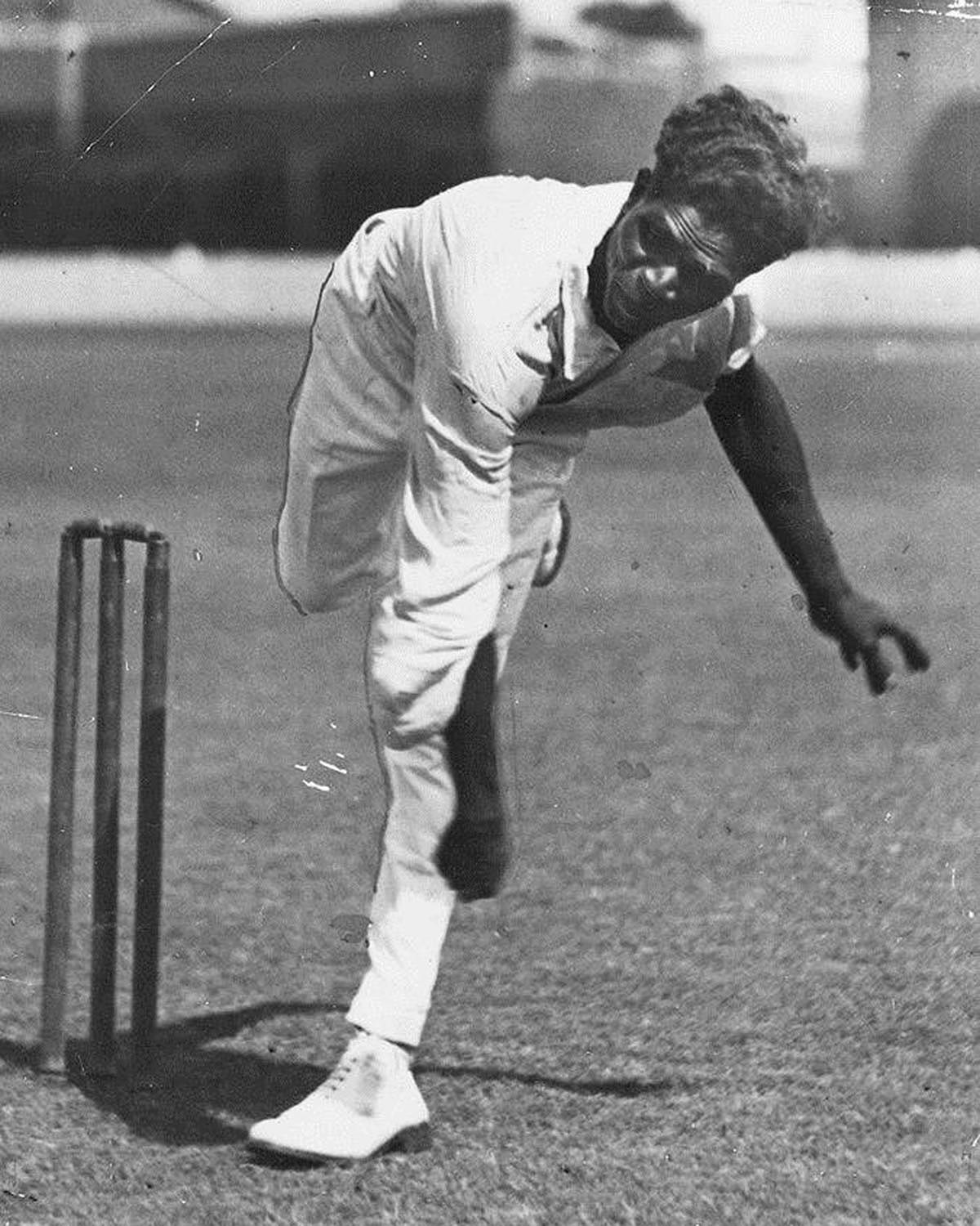 Eddie Gilbert terrorised batsmen in the 1930s