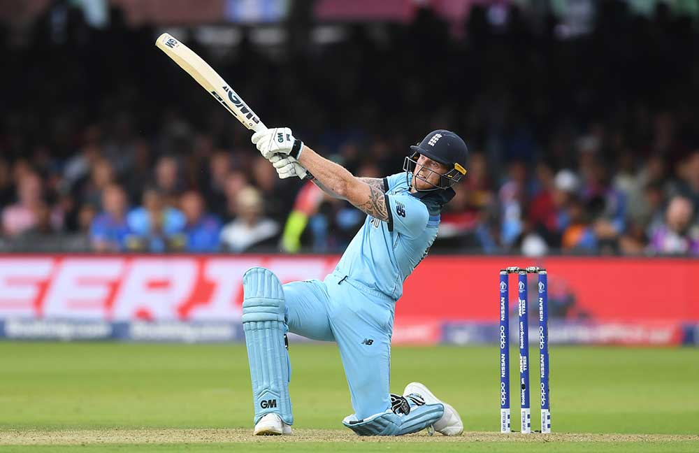 Stokes was player of the final for his combined 92 runs // Getty