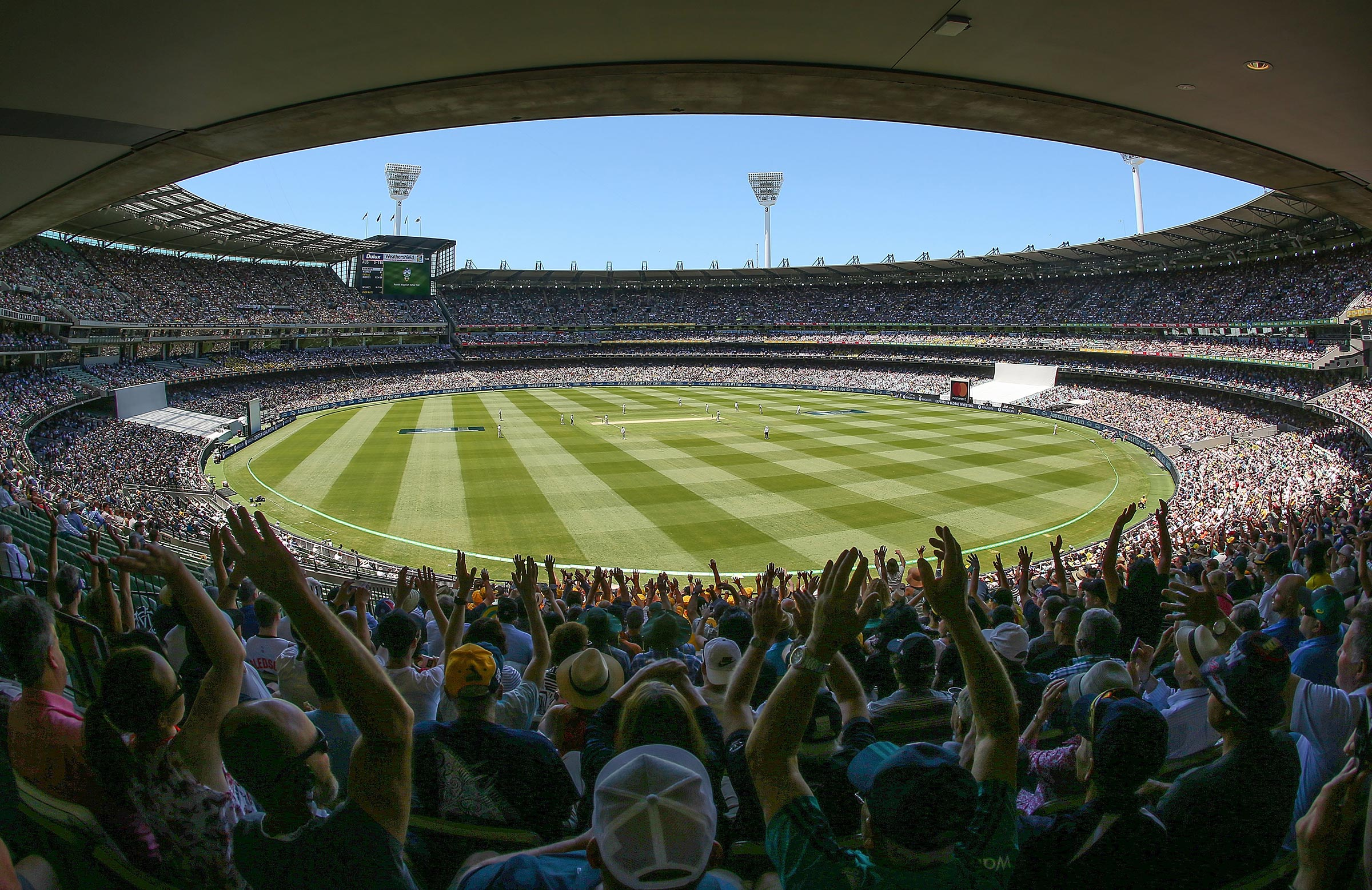 The 2019 and 2020 Boxing Day Tests will be part of the WTC // Getty