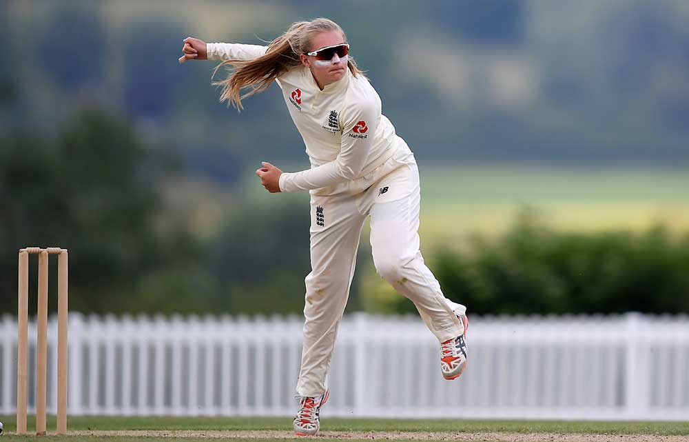 Sophie Ecclestone could form a twin-spin attack with Gordon // Getty