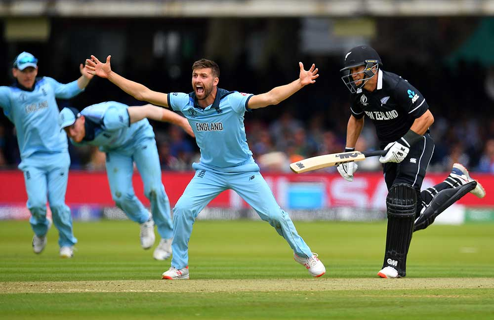 Mark Wood injured his side in the World Cup final // Getty