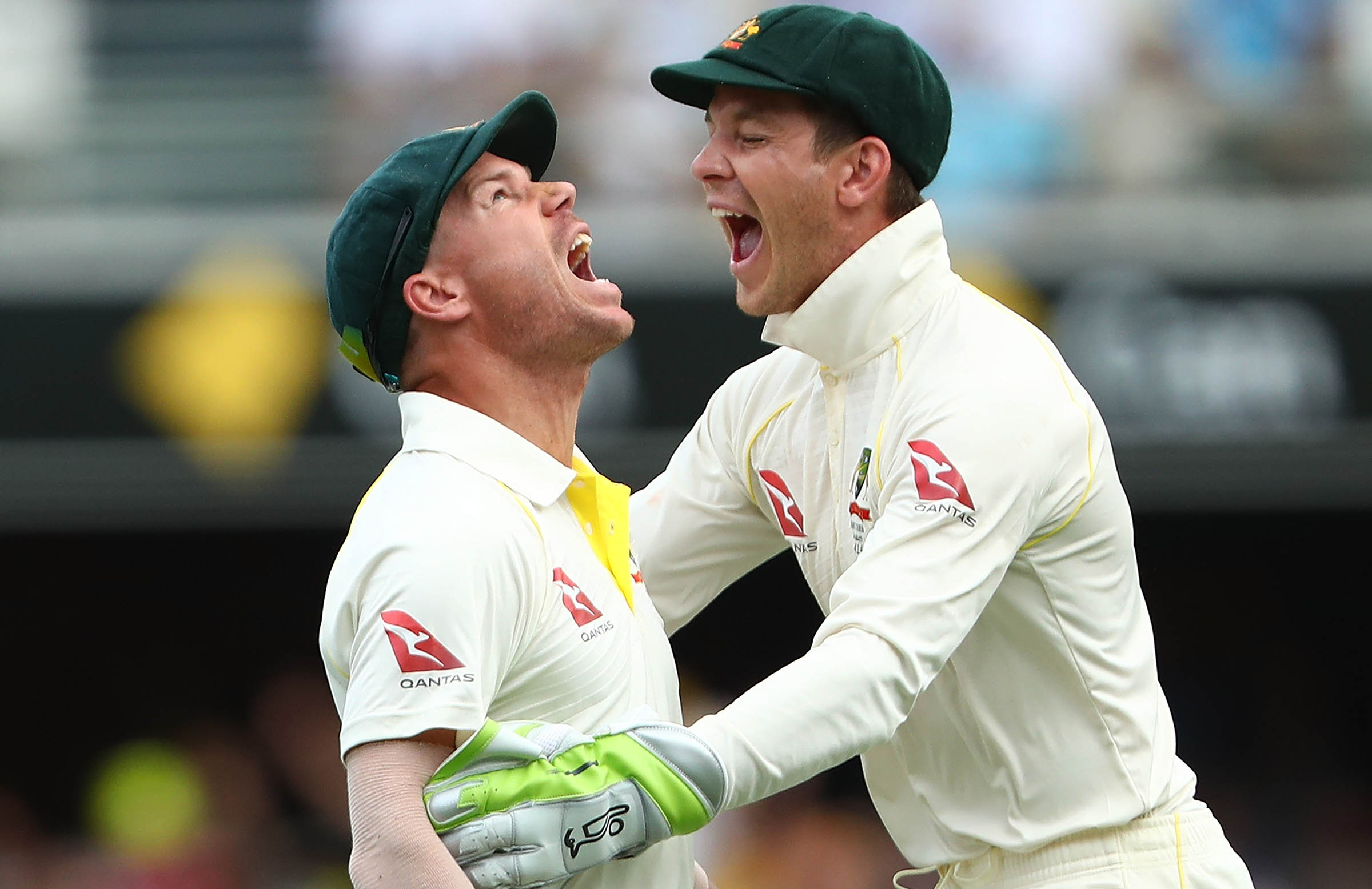 Paine says there is more than meets the eye with David Warner // Getty