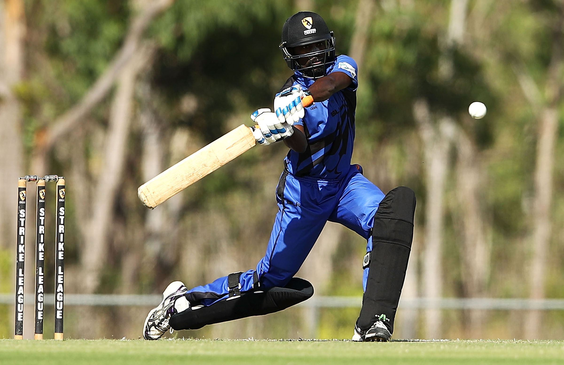 Weerasinghe in action during last year's NT Strike League // Getty