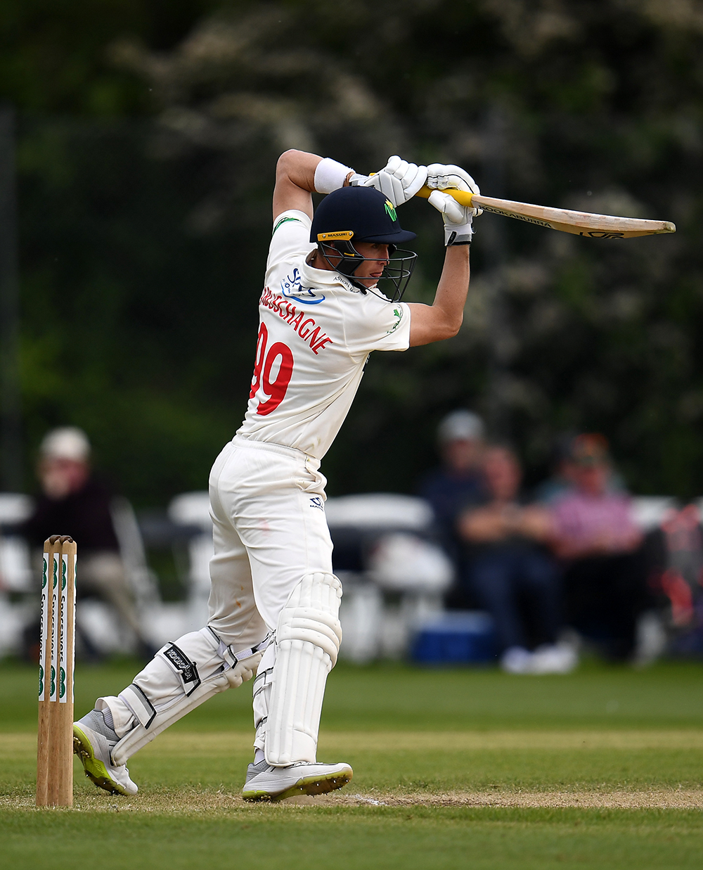 Marnus Labuschagne in action for Glamorgan // Getty