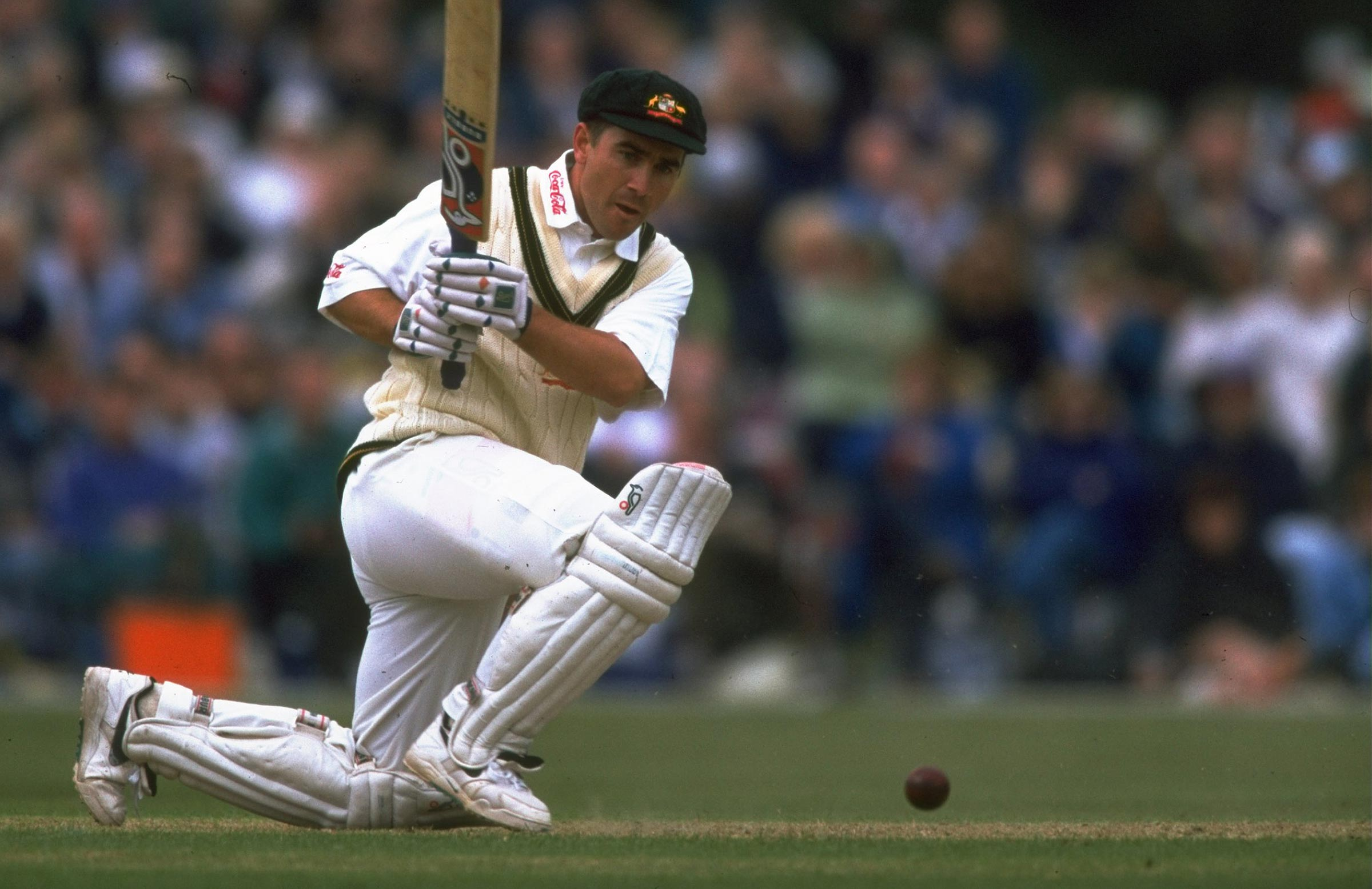 Langer didn't play a Test in the 1997 Ashes // Getty