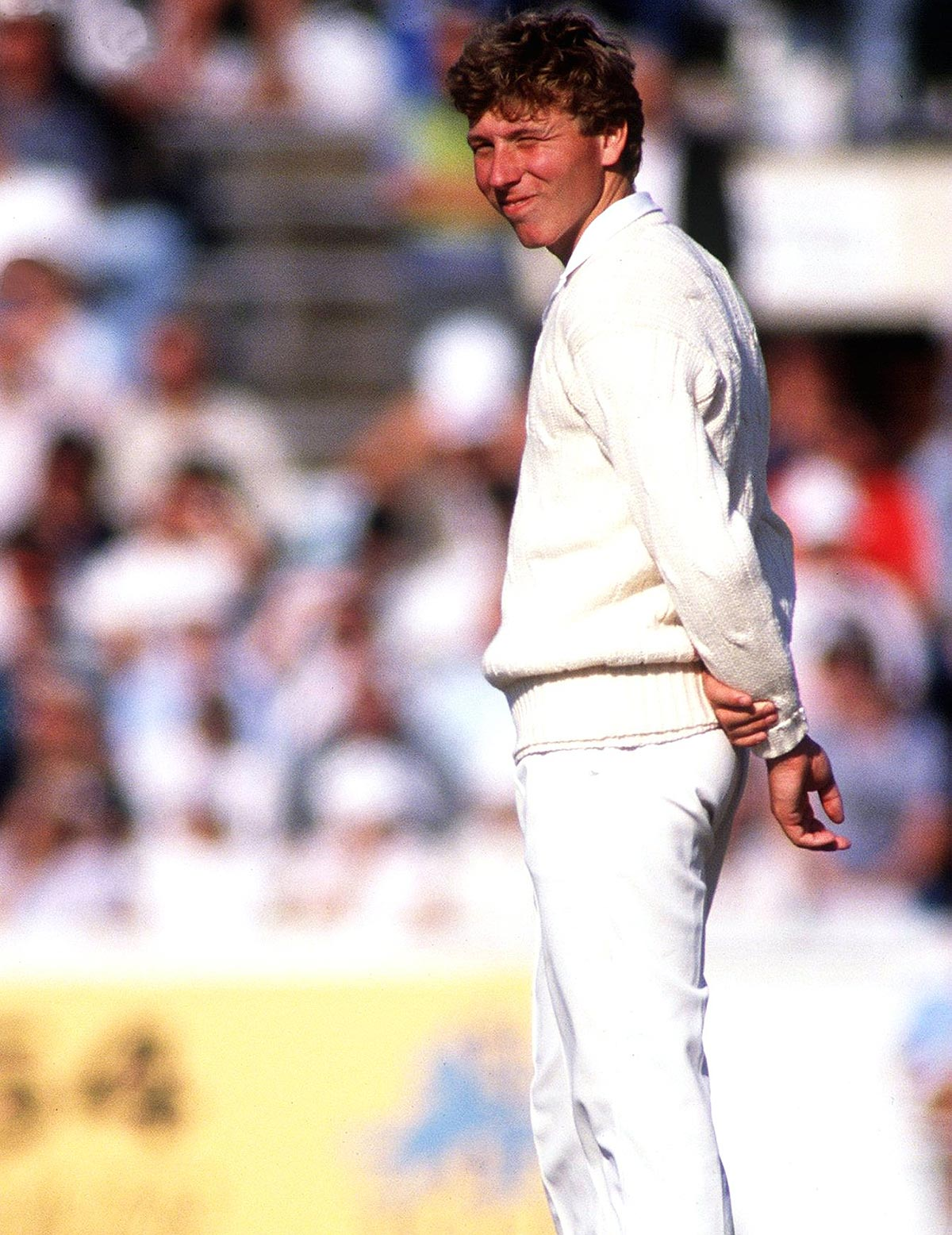 The likes of Mike Atherton were left to pick up the pieces of a fractured side // Getty