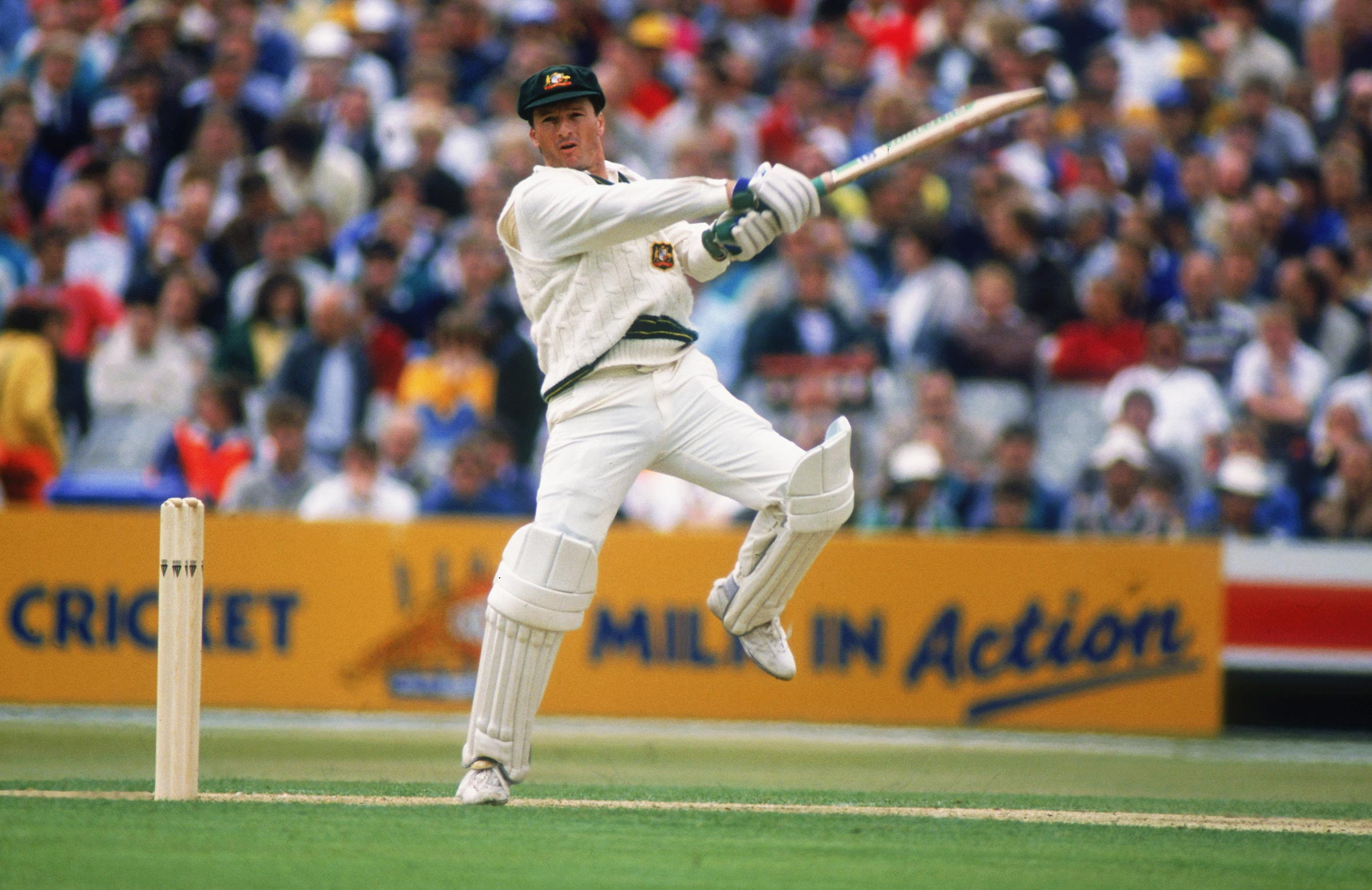 Steve Waugh had a breakout Ashes campaign // Getty