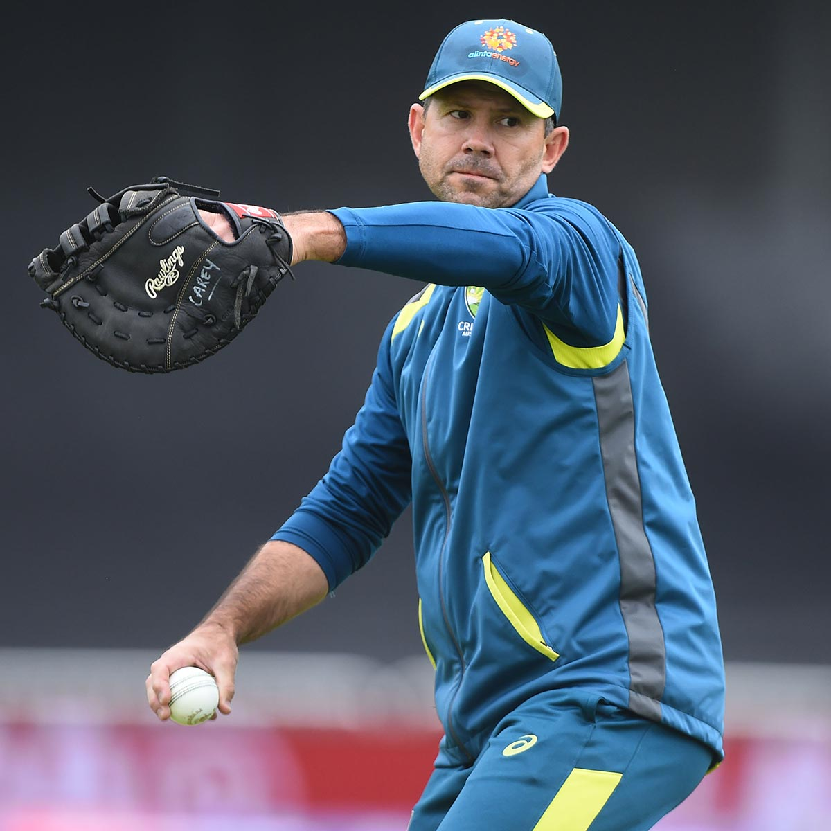 Ponting at training during the World Cup // Getty