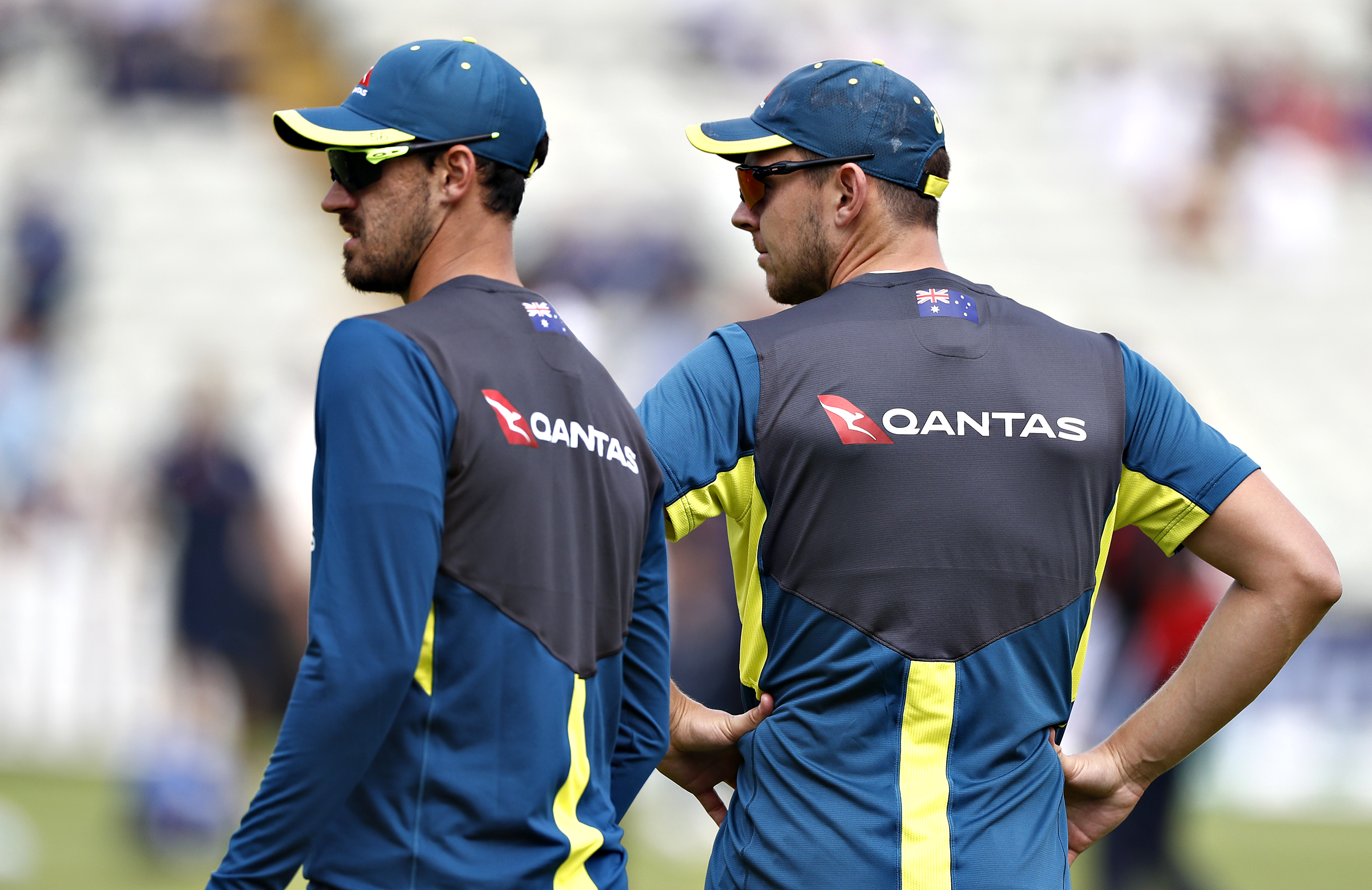 Mitchell Starc and Josh Hazlewood were overlooked for the first Ashes Test // Getty