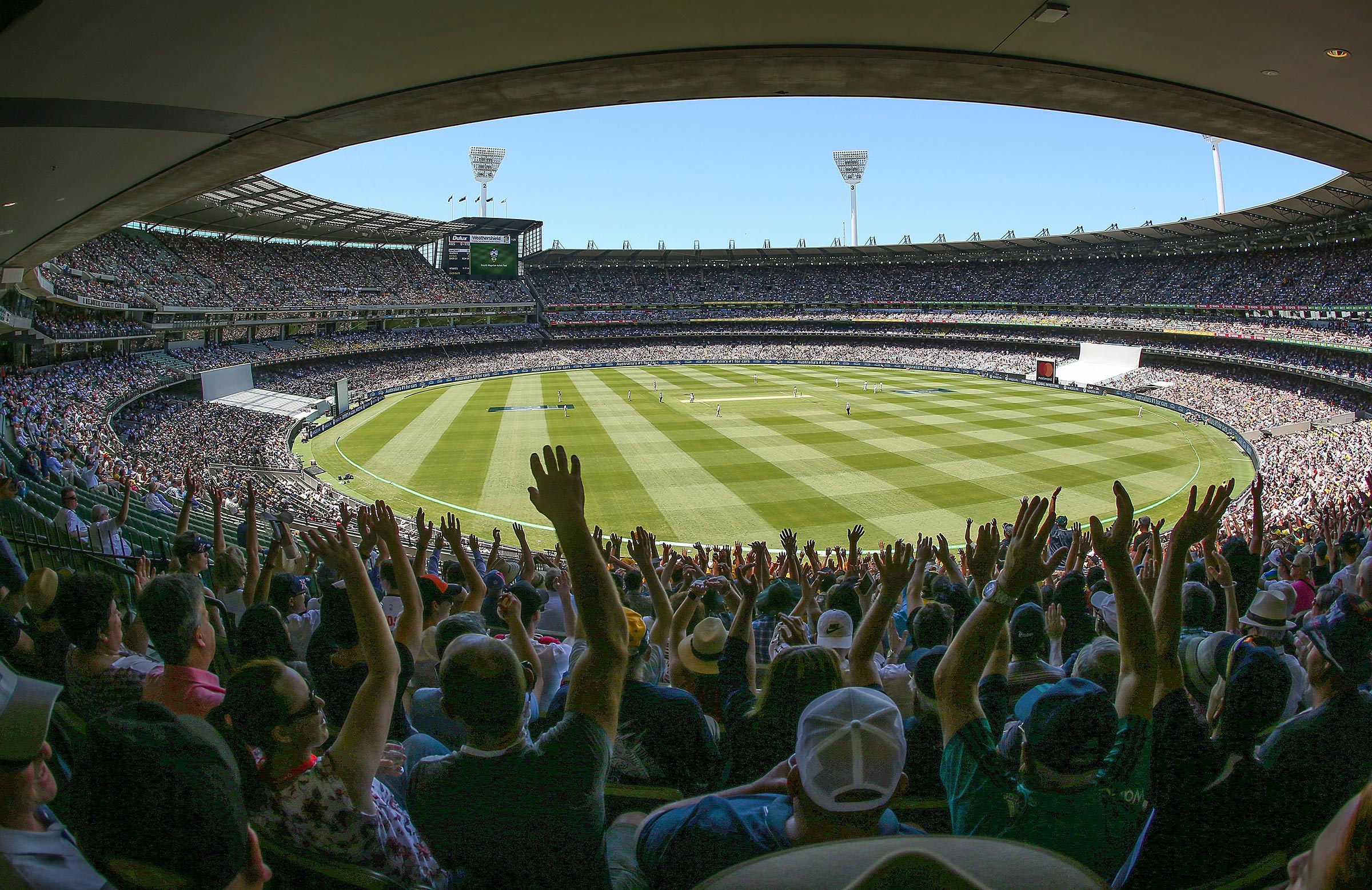 The Boxing Day Test is always a fan favourite // Getty
