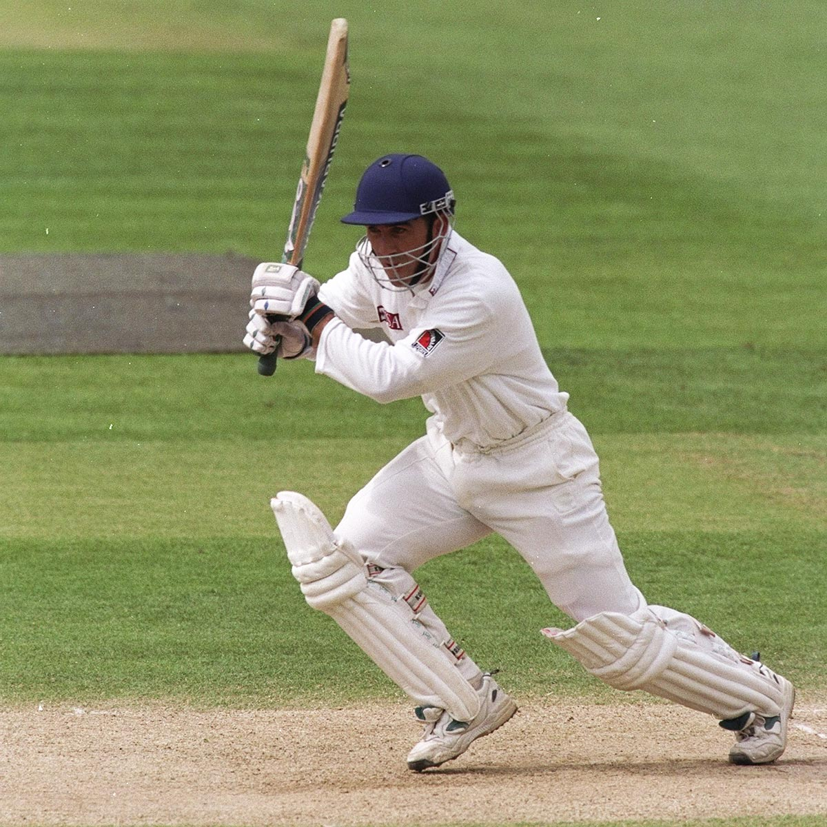 Langer played three seasons at Middlesex in the 1990s // Getty