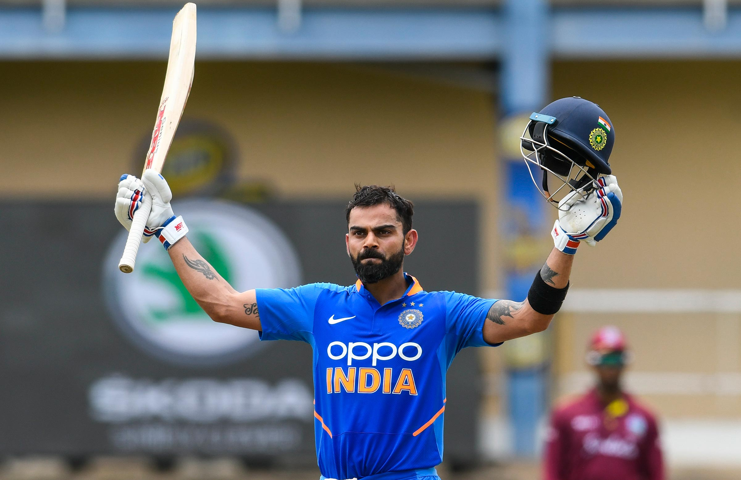 Kohli posted his 42nd ODI century // Getty
