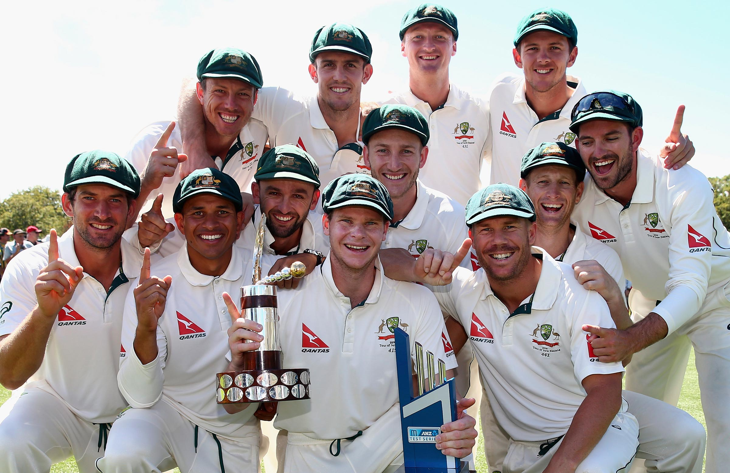 Australia retained the Trans-Tasman Trophy in 2016 // Getty