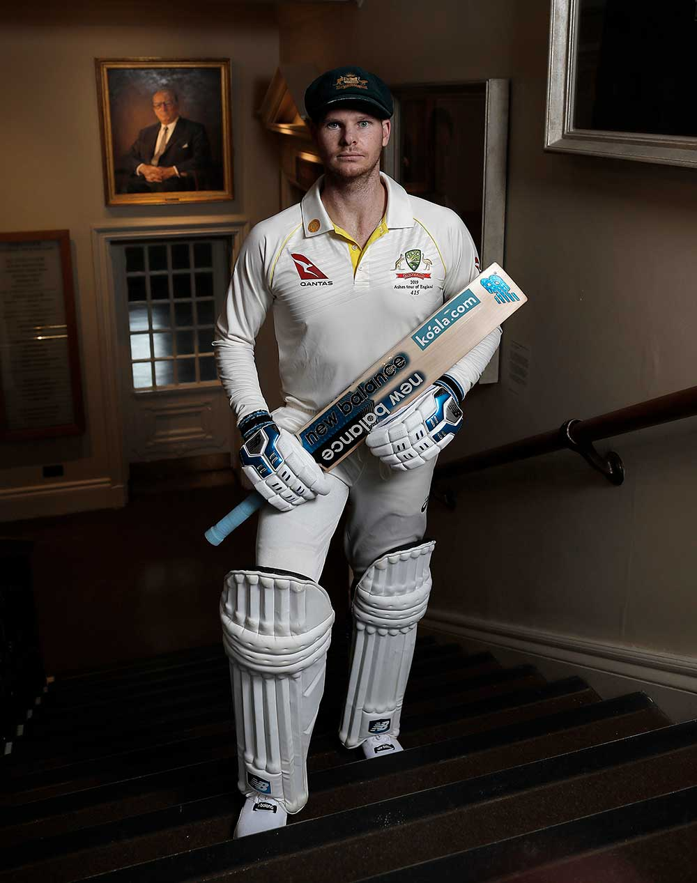 Steve Smith in the Lord's pavilion // Ryan Pierse/Getty