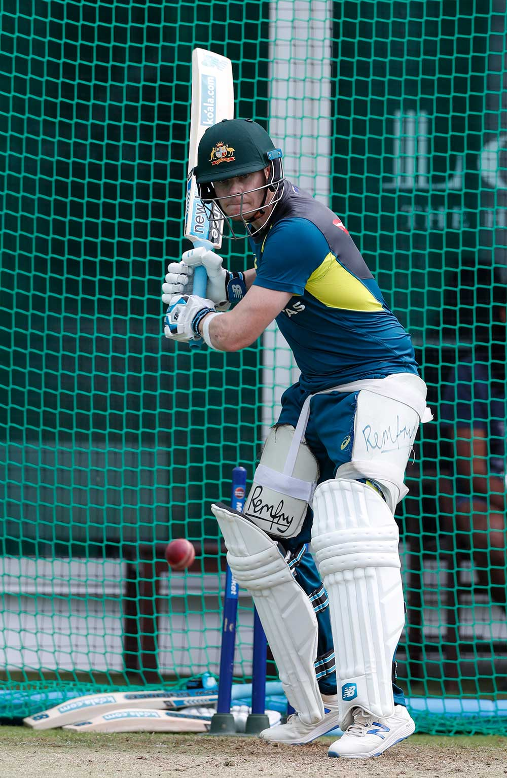 Smith at work in the Lord's nets // Getty