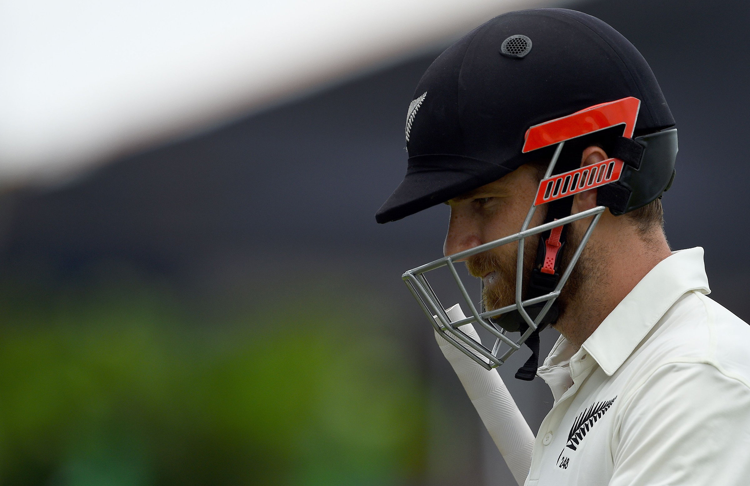 Williamson was dismissed for a duck // Getty