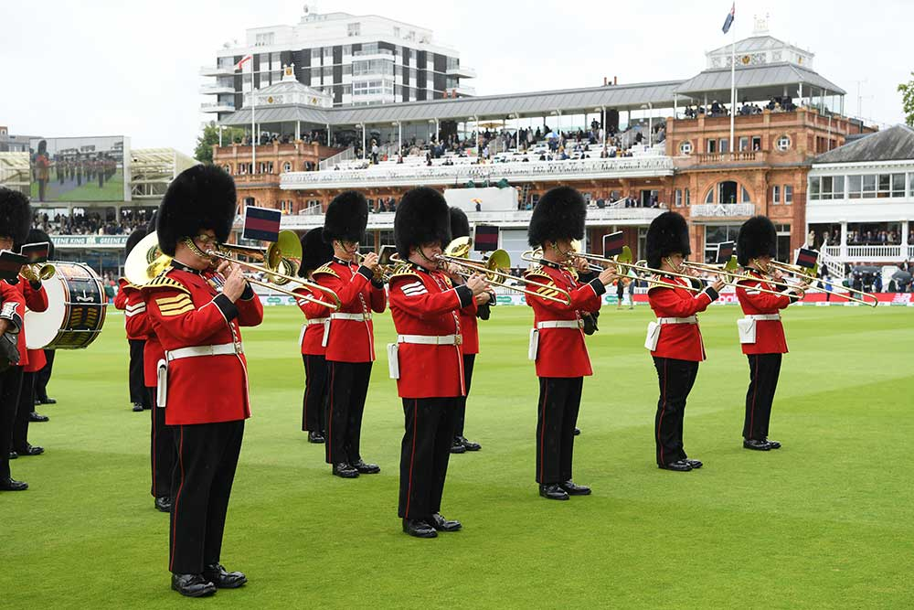 No cricket ground does pomp and circumstance like Lord's // Getty