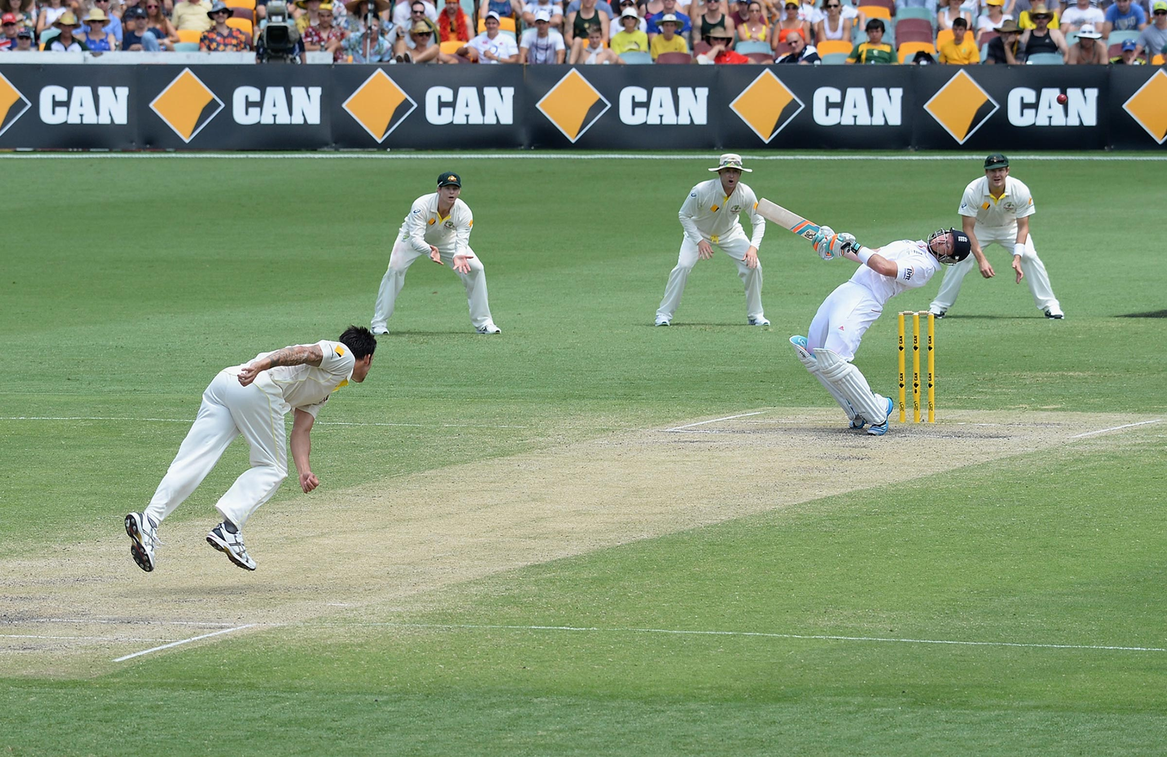 Johnson's performance in the 2013 Gabba Test defined that series // Getty