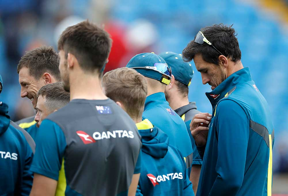 Mitchell Starc has been held back for all three Tests // Getty