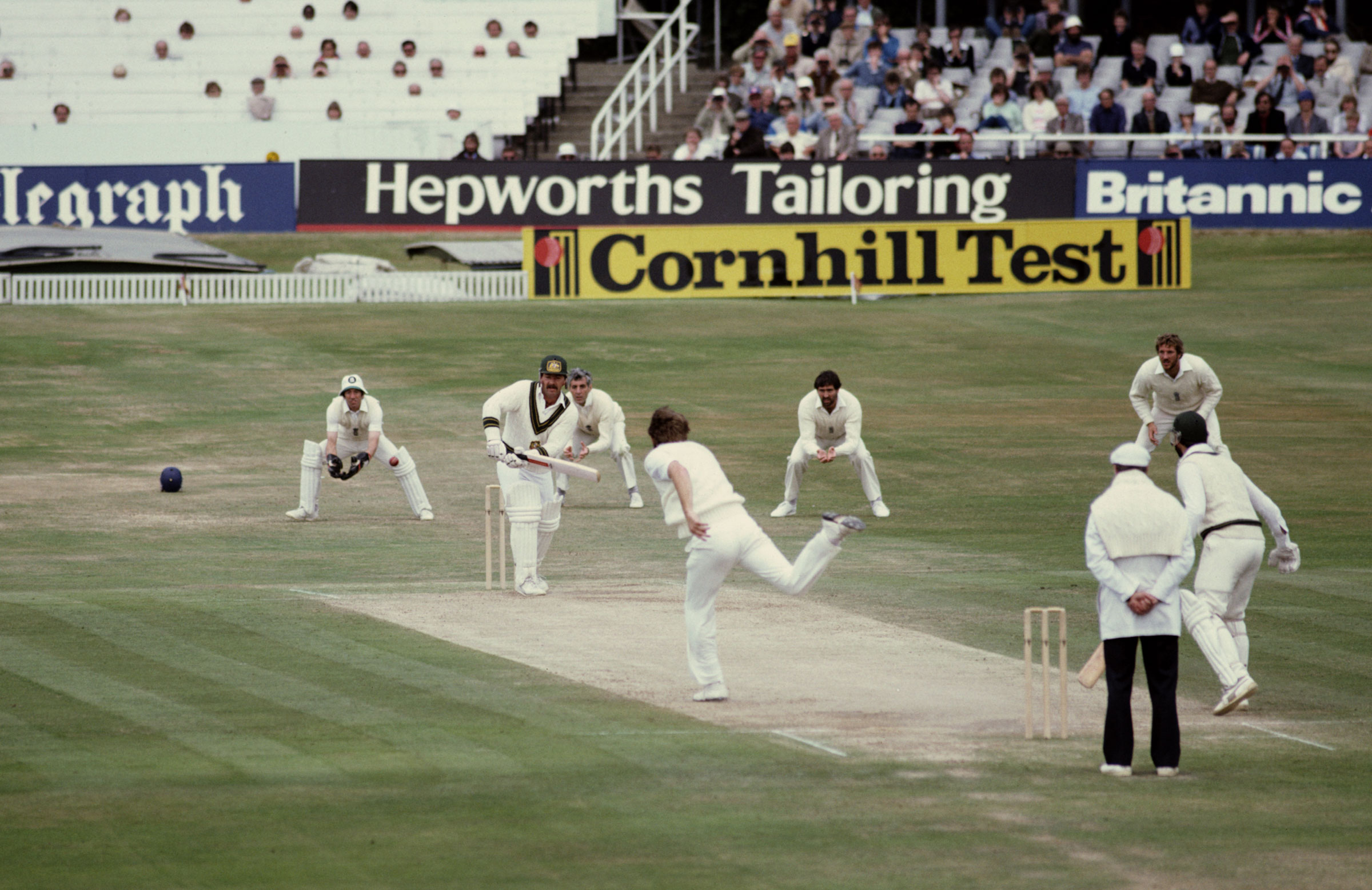 Rod Marsh at the crease for Australia in 1981 // Getty Images