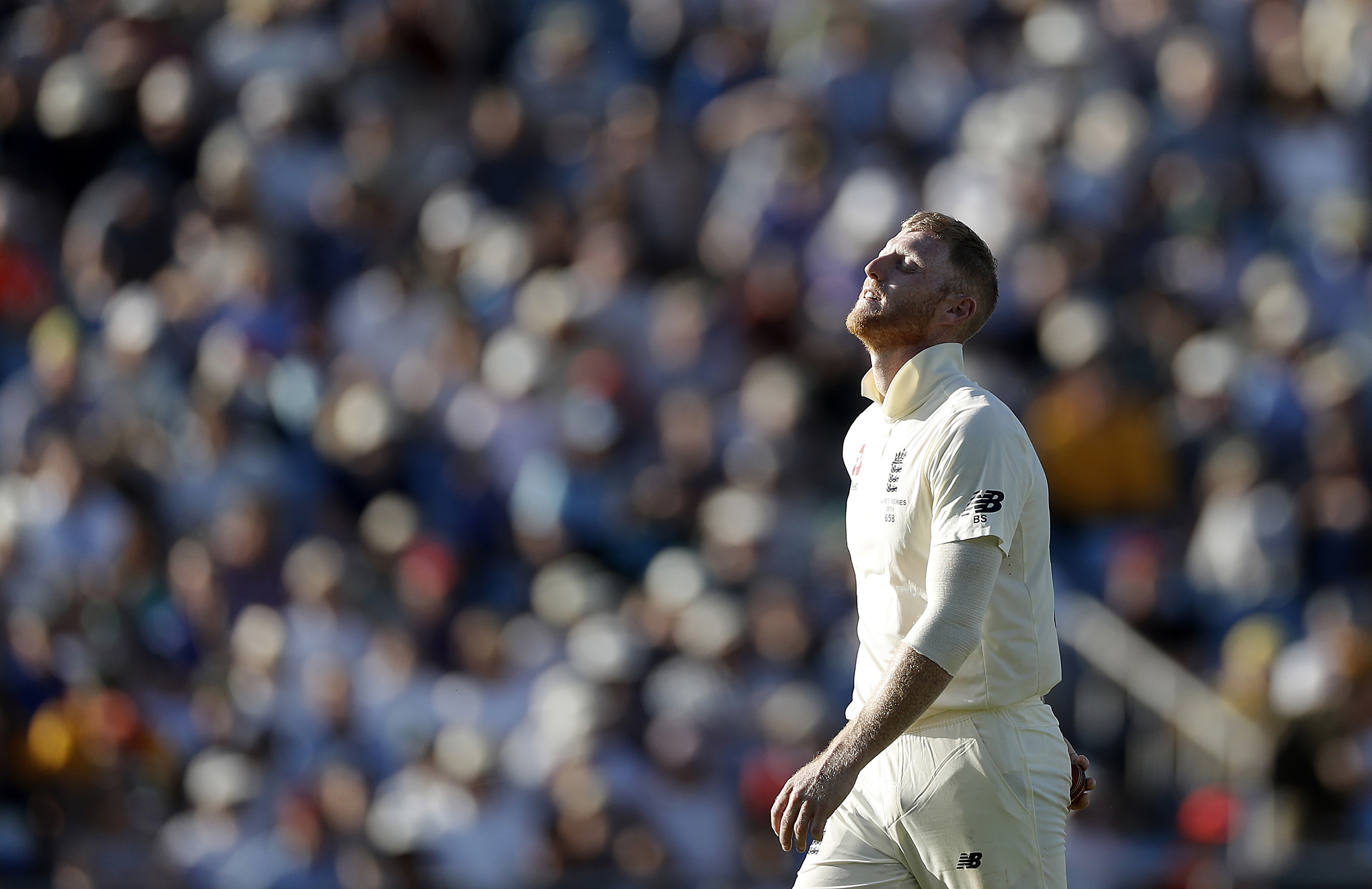 Stokes bowled 15.2 overs virtually on the trot // Getty