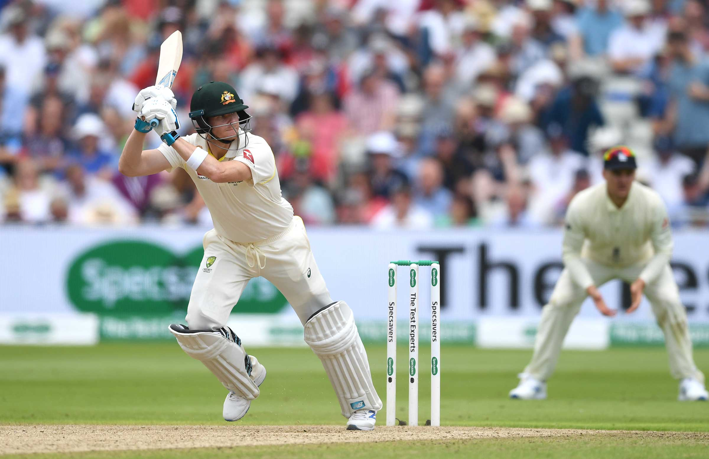 Smith hit 16 fours and two sixes // Getty