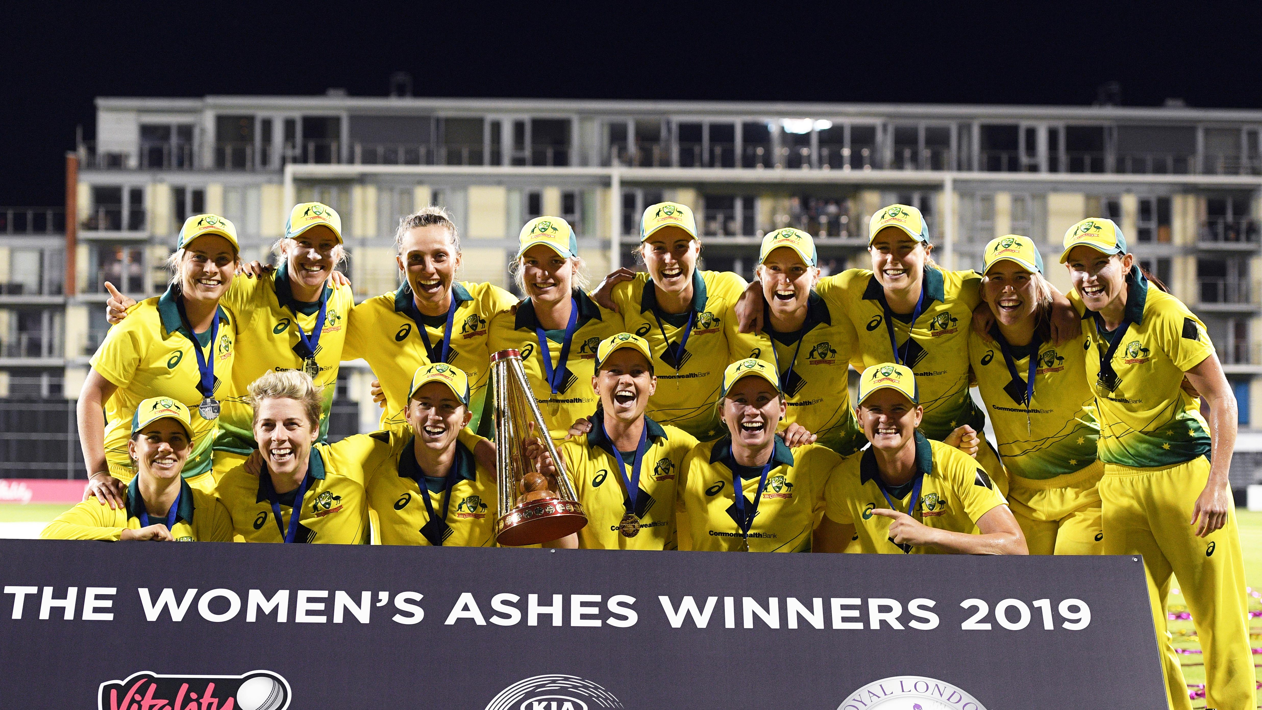 Australia's women won the Ashes this winter // Getty