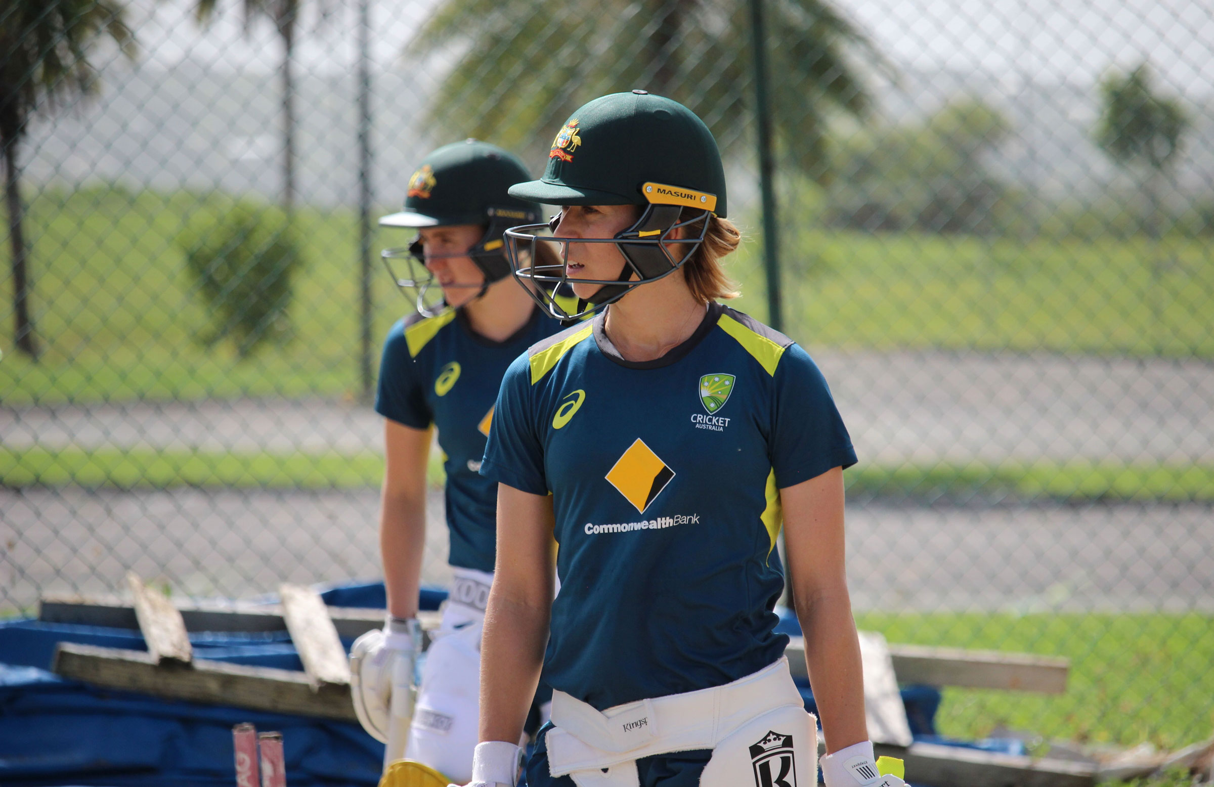Erin Burns and Heather Graham will be keen to impress // Cricket Network