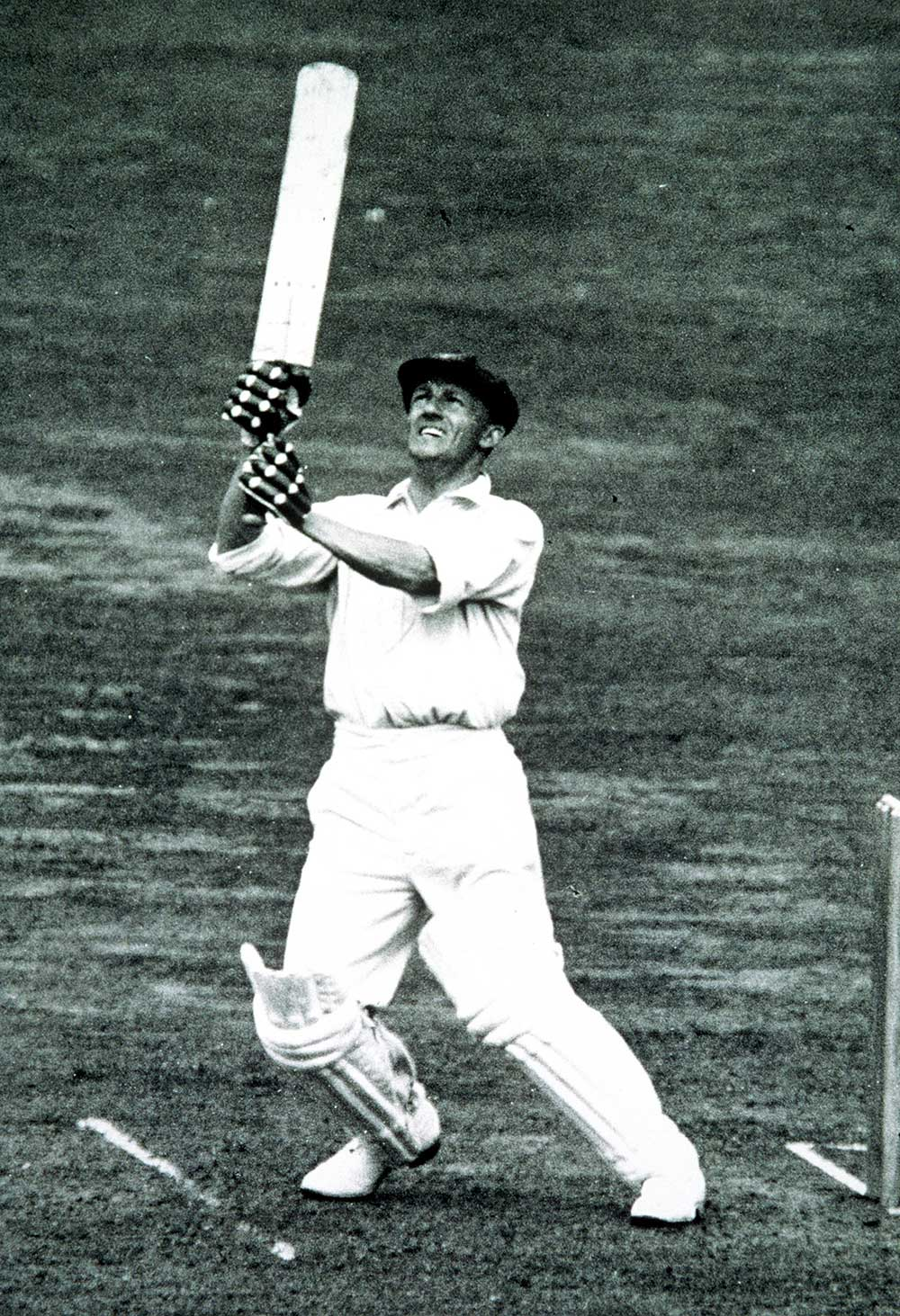 Sir Donald Bradman in action in 1934 // Getty