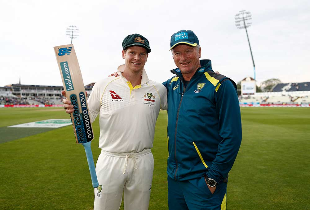 A combined 20 Ashes Test tons for Smith and Waugh // Getty
