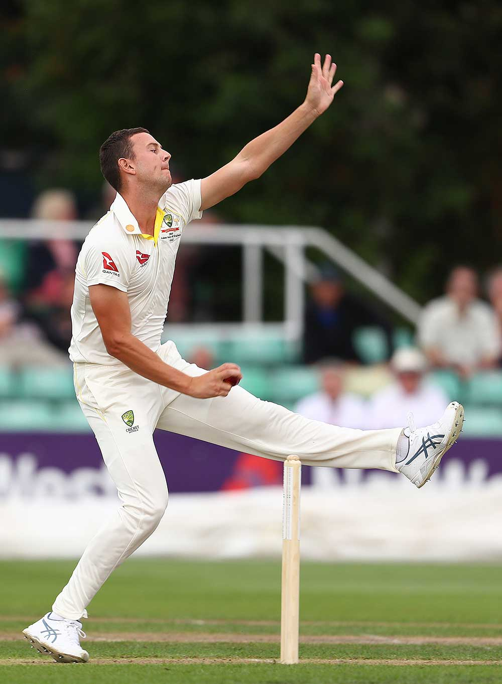 Hazlewood's last first-class wickets were in early January // Getty