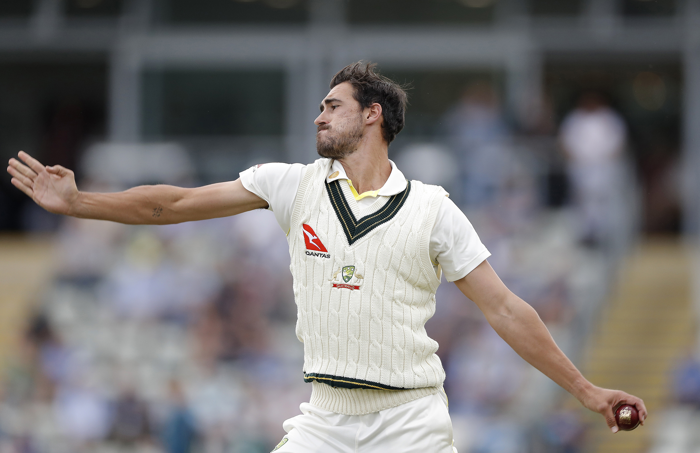 Starc took 2-56 from 15.5 overs // Getty