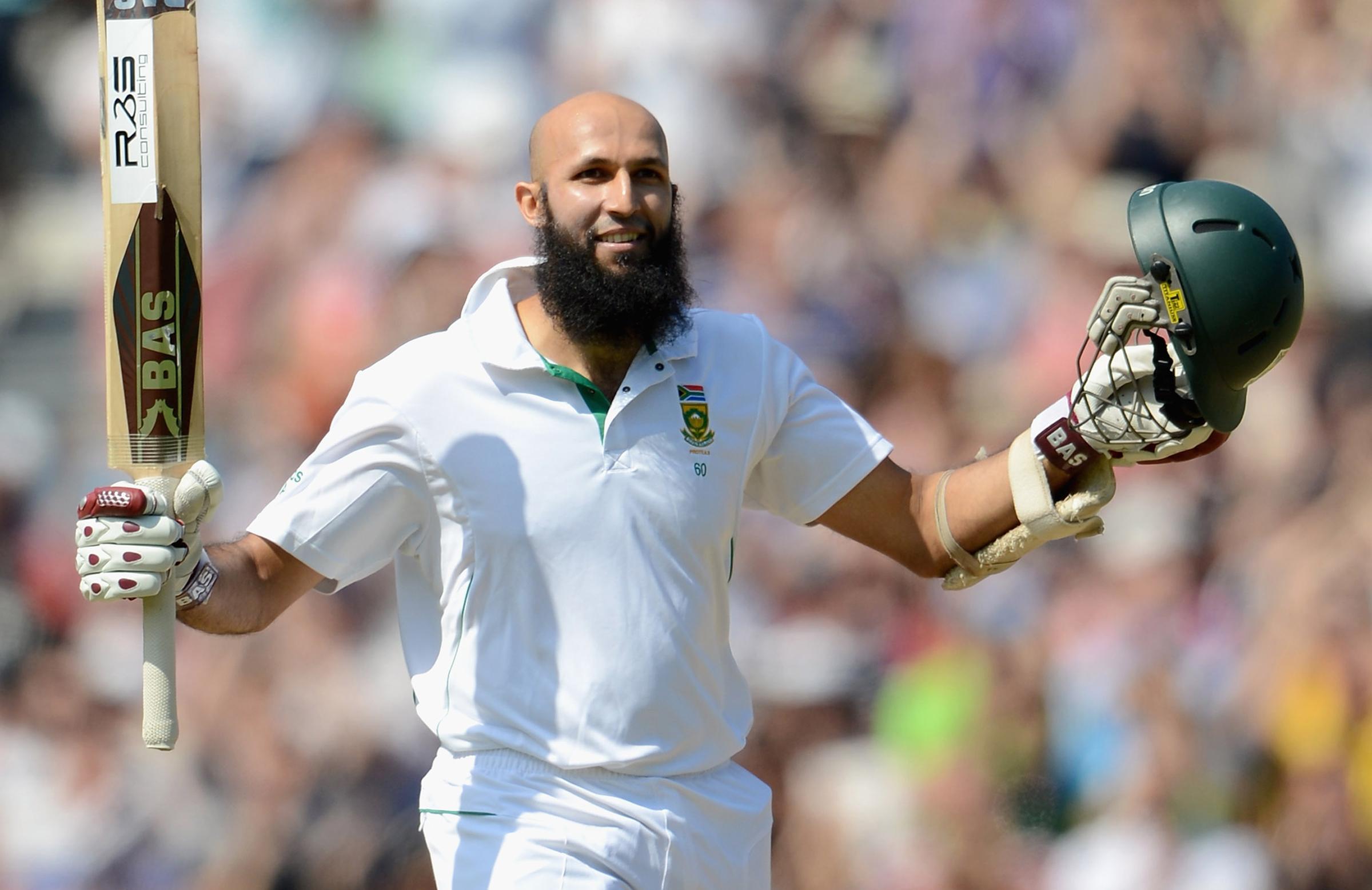 Amla struck South Africa's first triple-century in 2012 // Getty