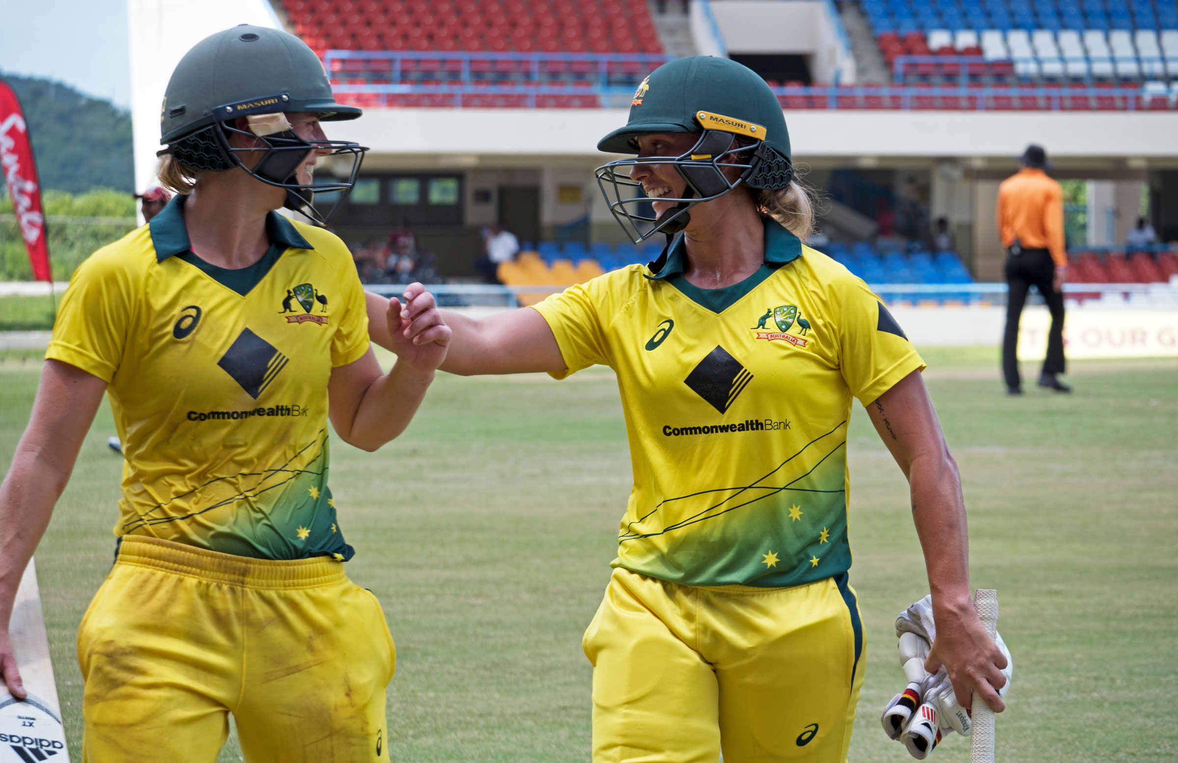 Ellyse Perry and Ashleigh Gardner ended Australia's innings in style // cricket.com.au
