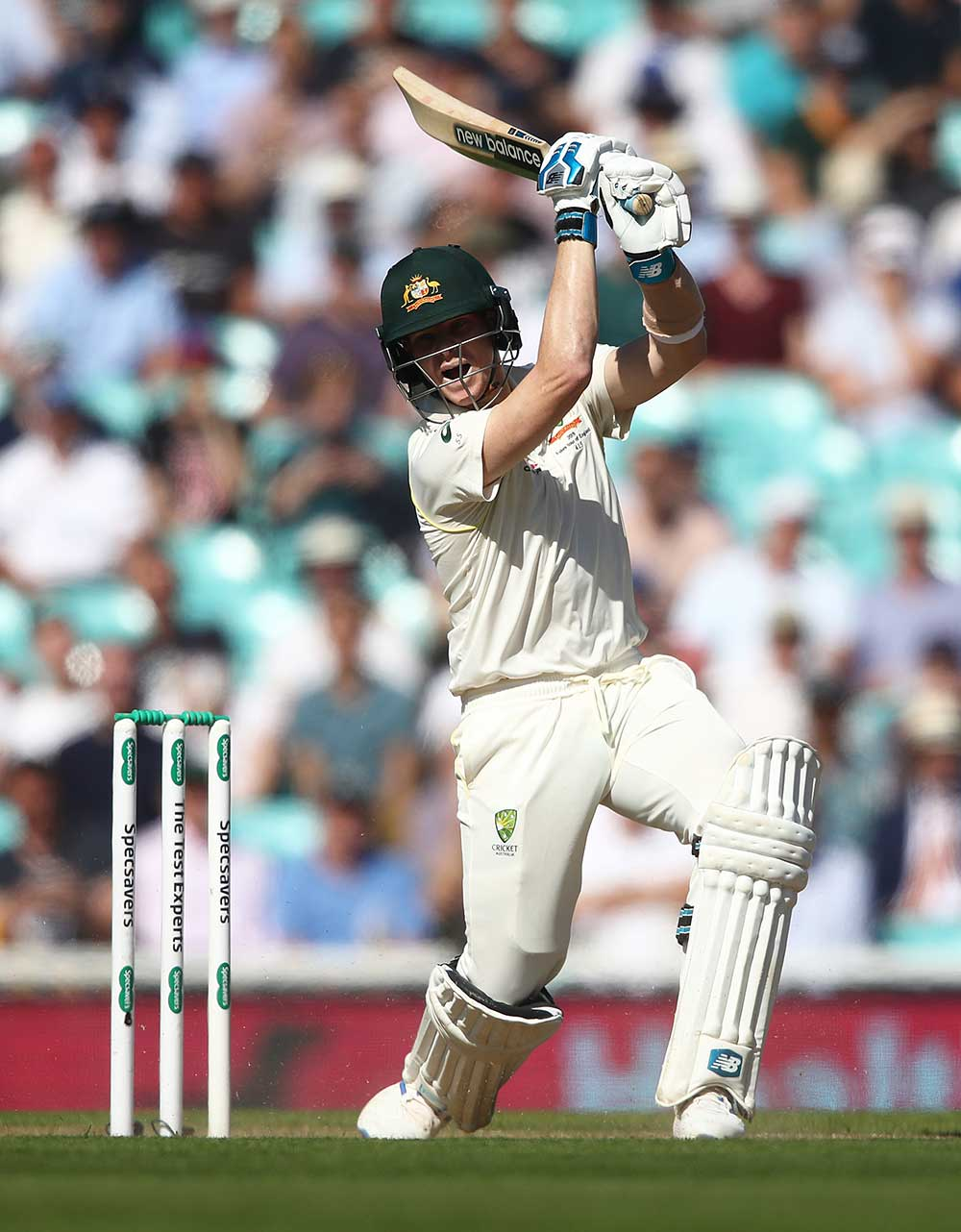 Steve Smith hit a 10th successive Ashes fifty // Getty