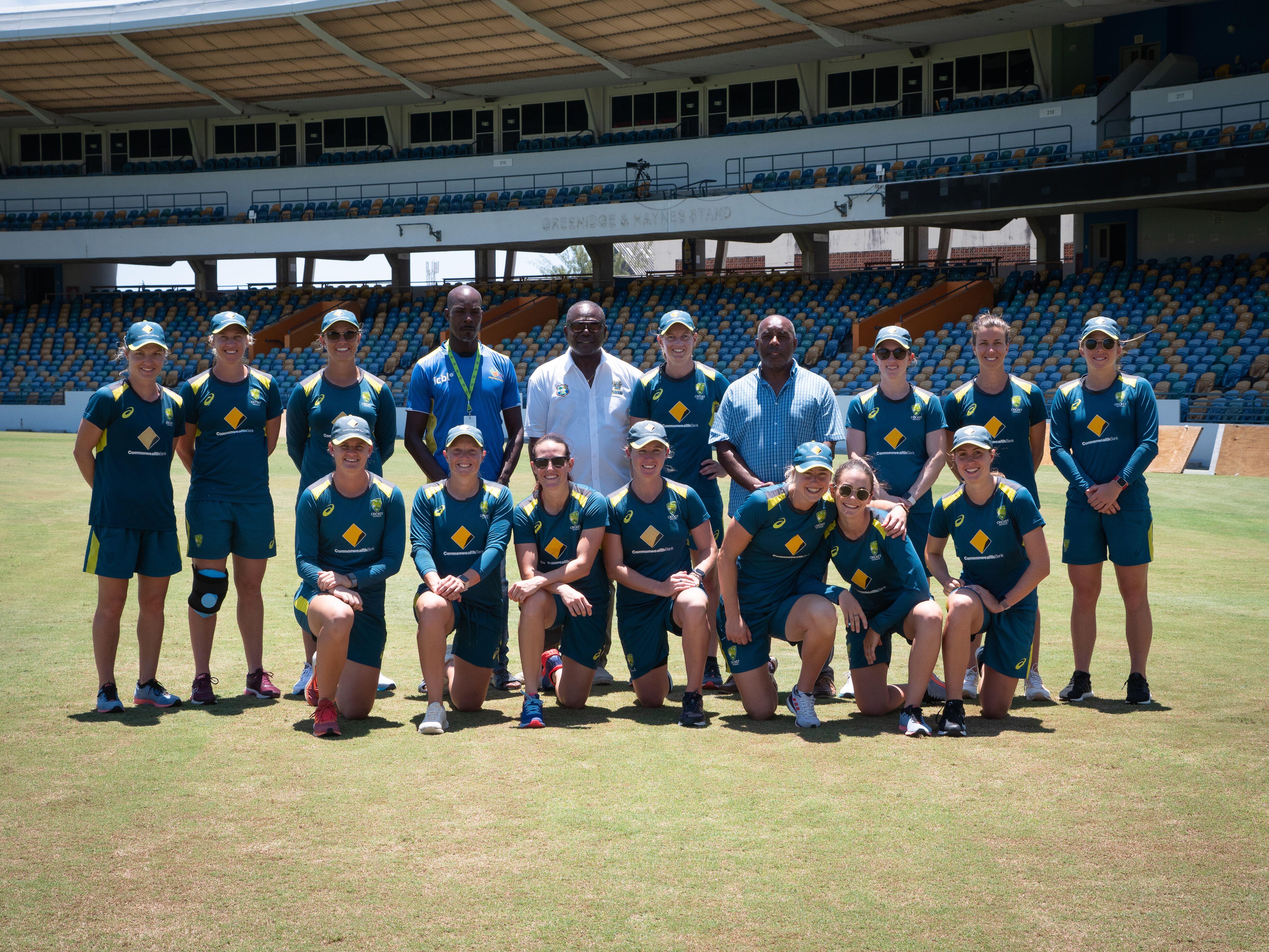 The 2019 Aussie women assemble // Cricket Network