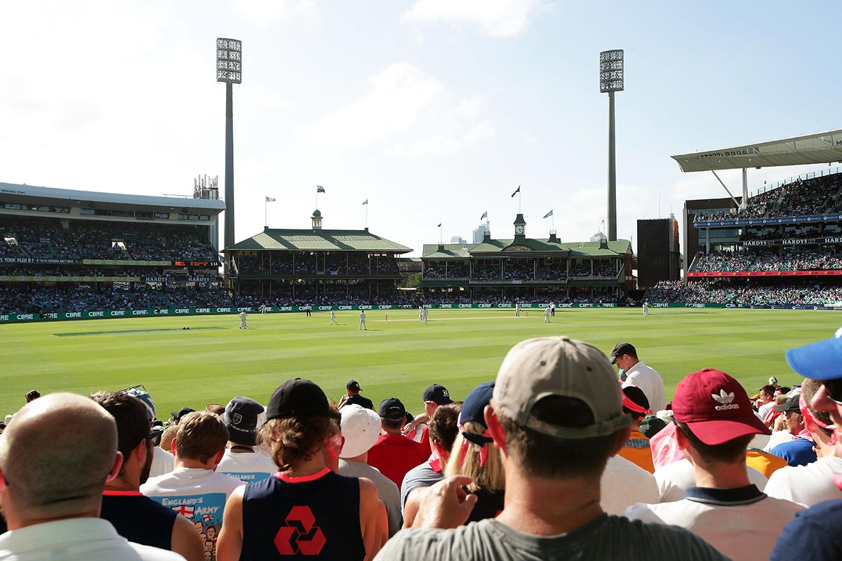 The SCG will host the traditional New Year's Test // Getty