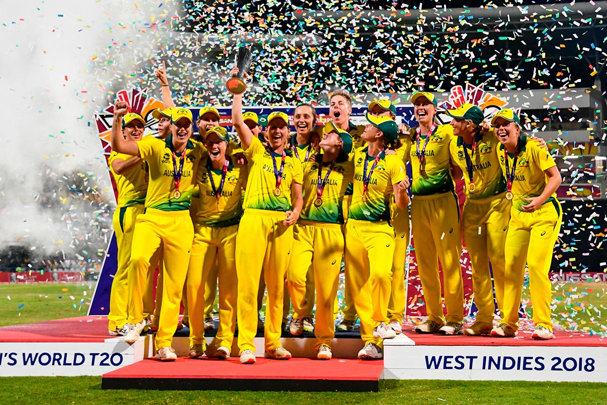 Australia will defend their T20 World Cup title on home soil // Getty