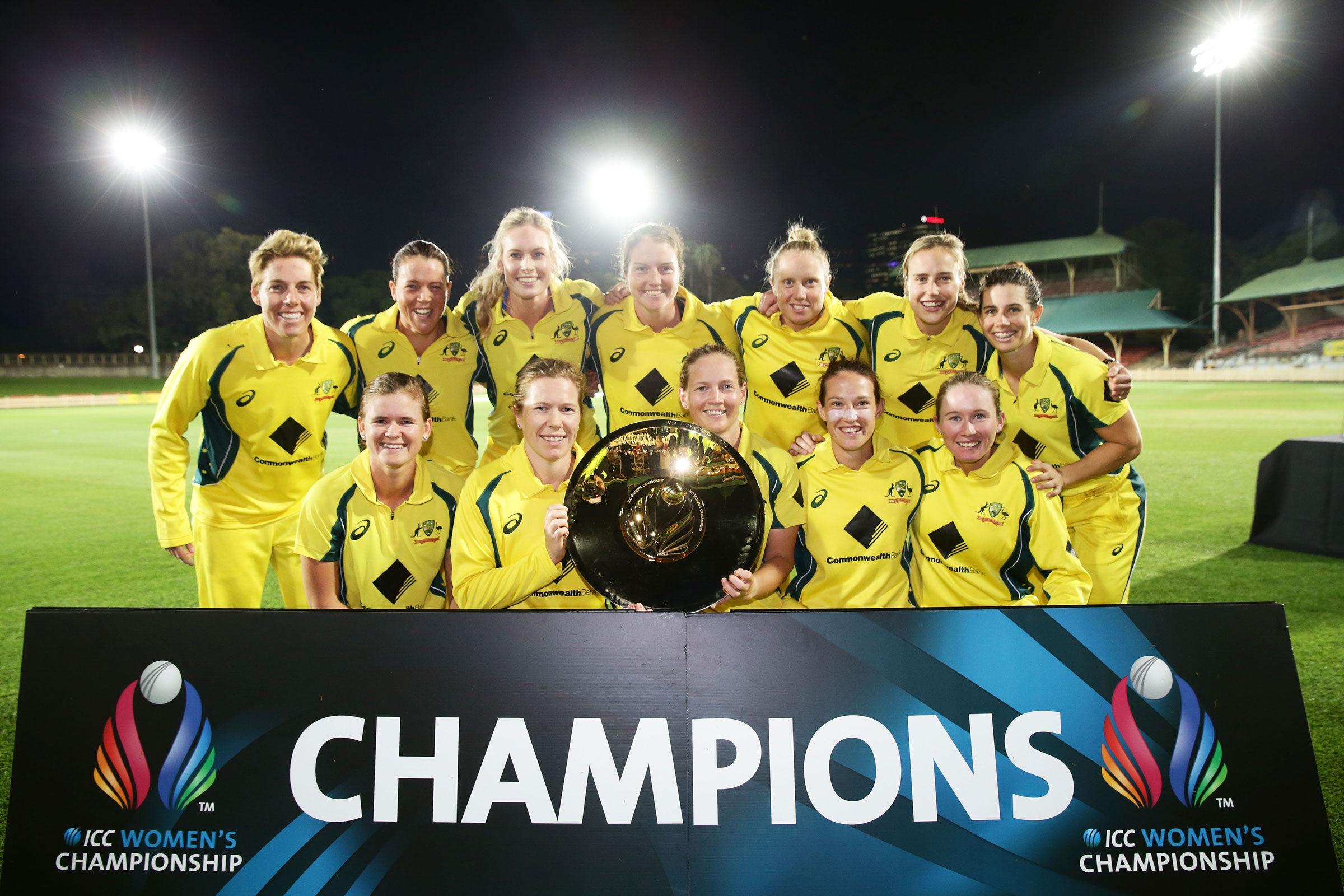 Australia took out the first edition of the Championship in 2016 // Getty