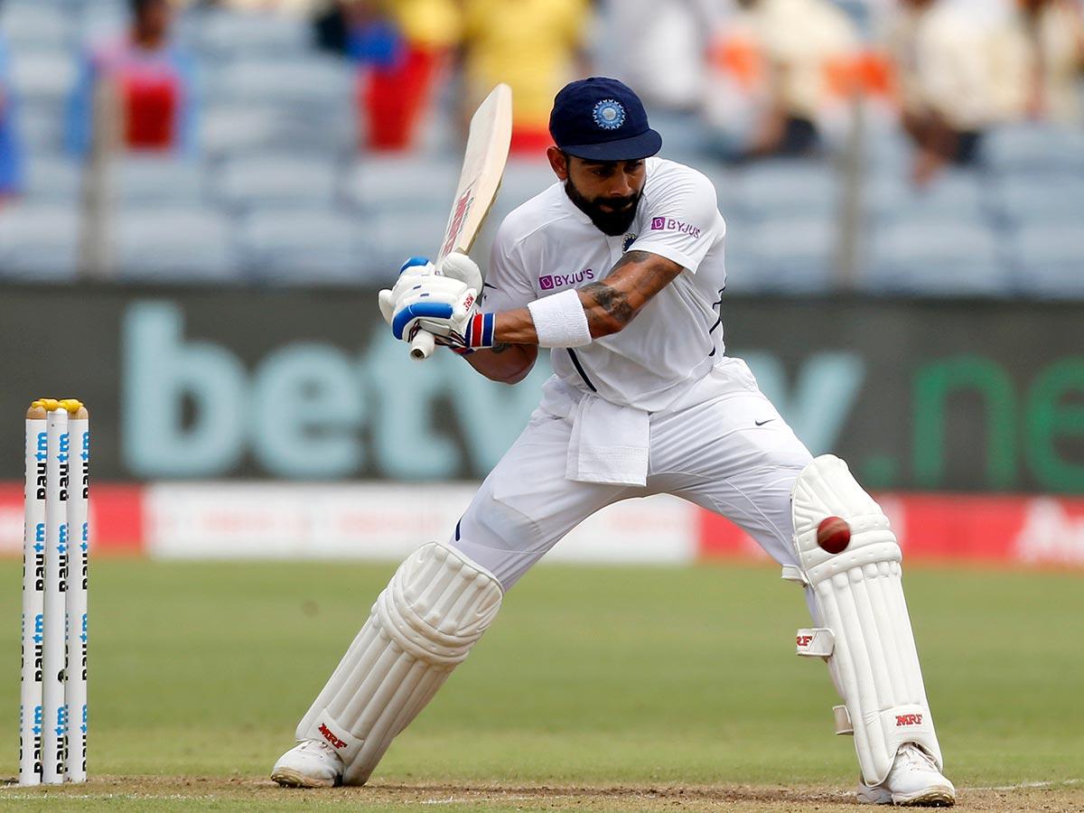 Kohli hit 28 fours in reaching 200 // Getty