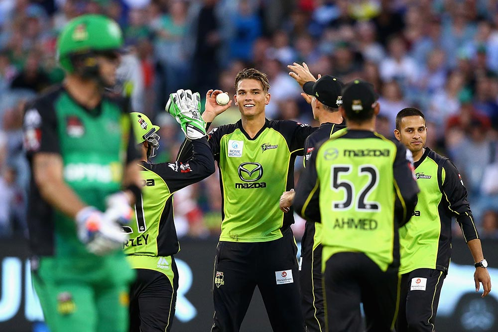 Green also claimed KP in the BBL|05 final // Getty