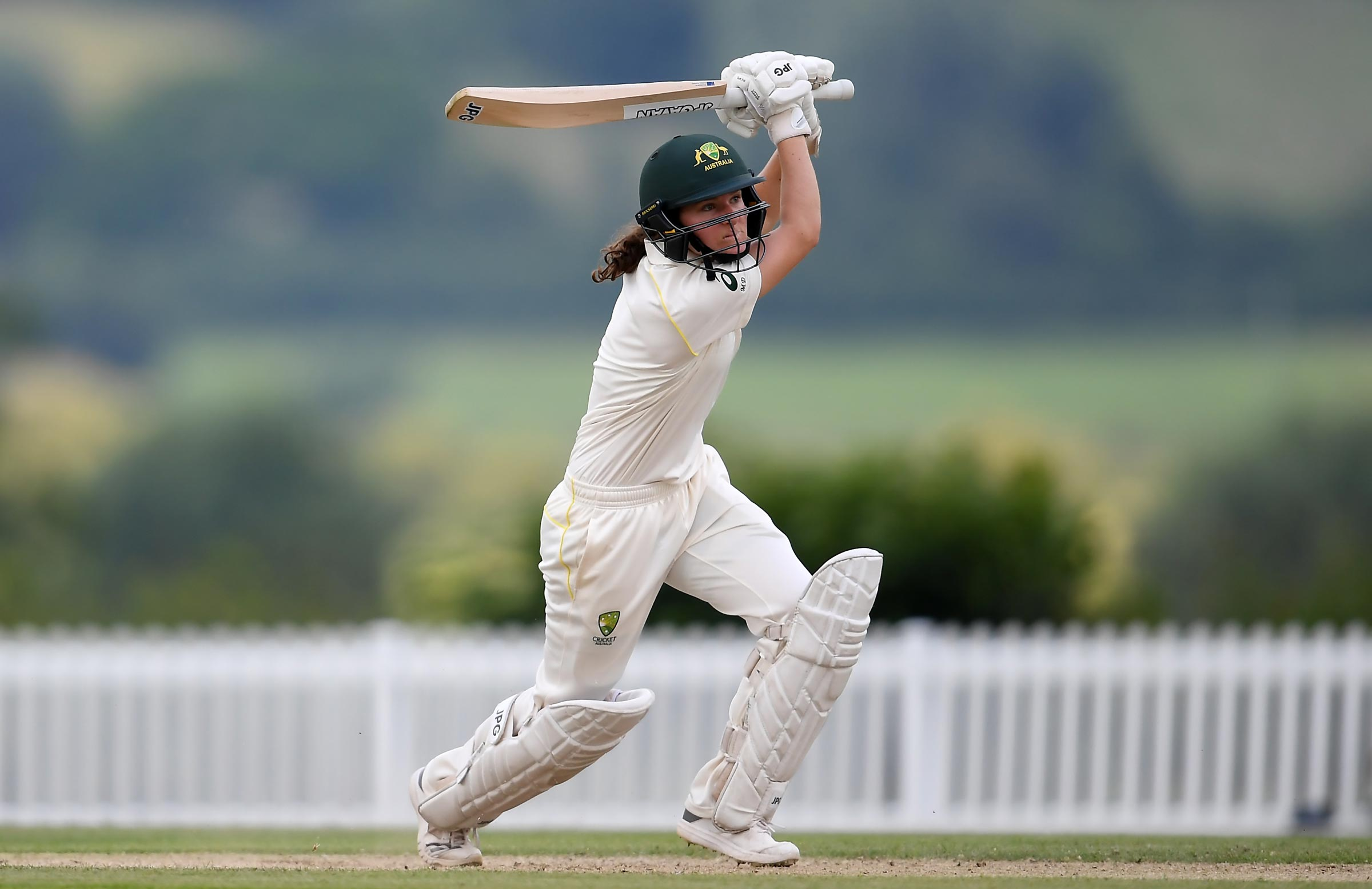 Darke in action for Australia A in England // Getty