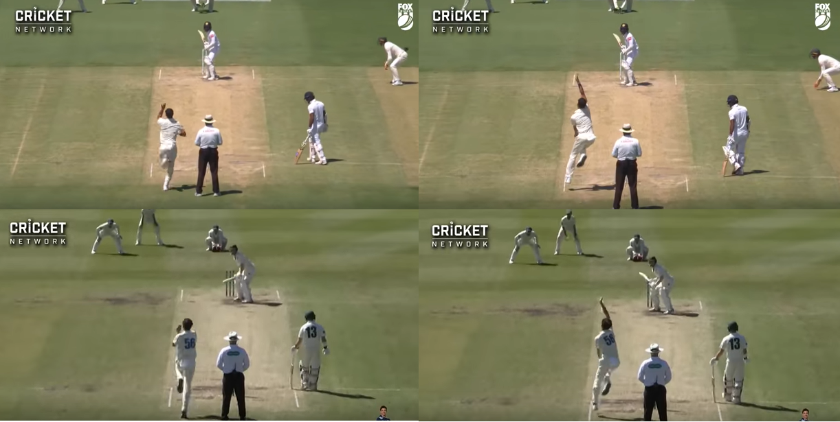 Starc in February 2019 top, and today below // Cricket Network