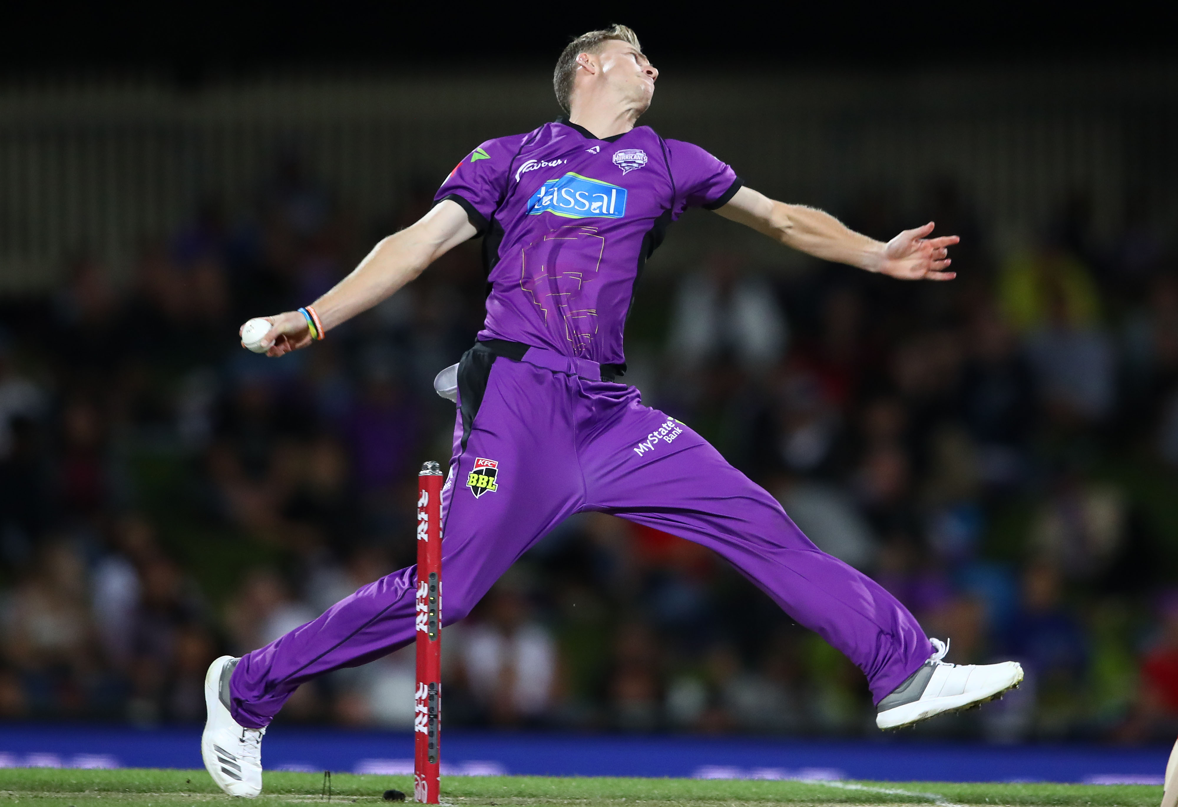 Meredith took 16 wickets in BBL|08 for the Hurricanes // Getty