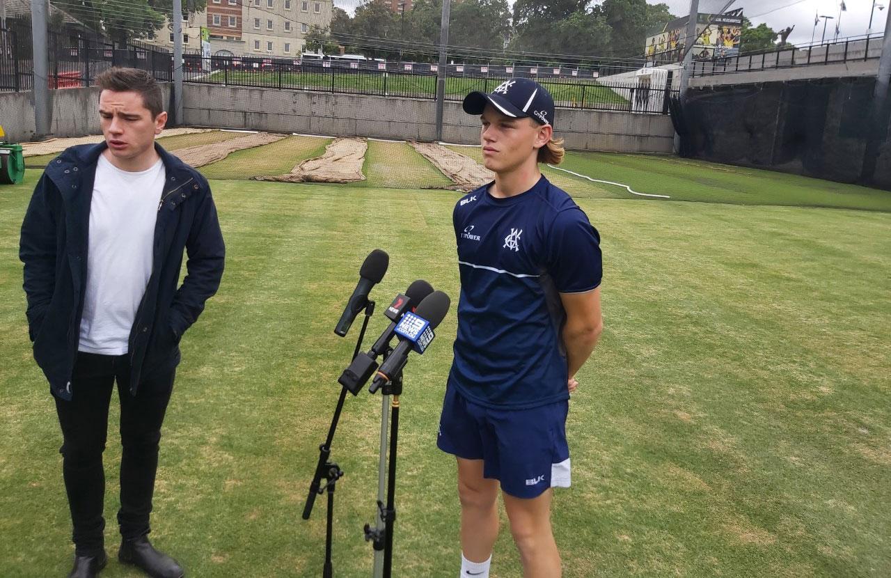 Fraser-McGurk was unveiled by Victoria on Sunday // Cricket Network