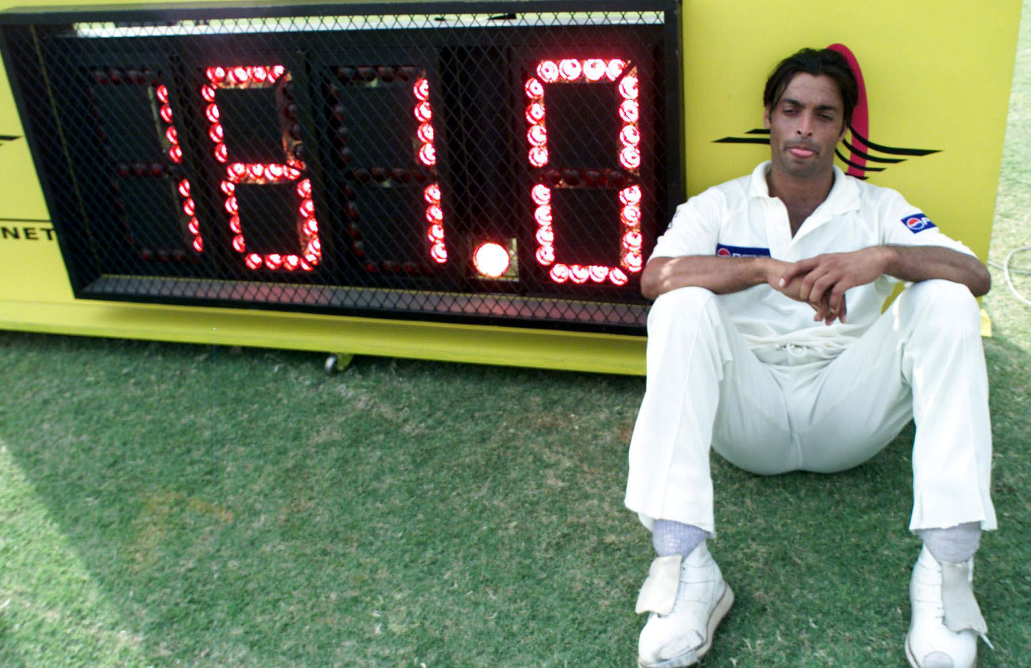 Shoaib Akthar reached bowling speeds never seen in 1999 // Getty Images