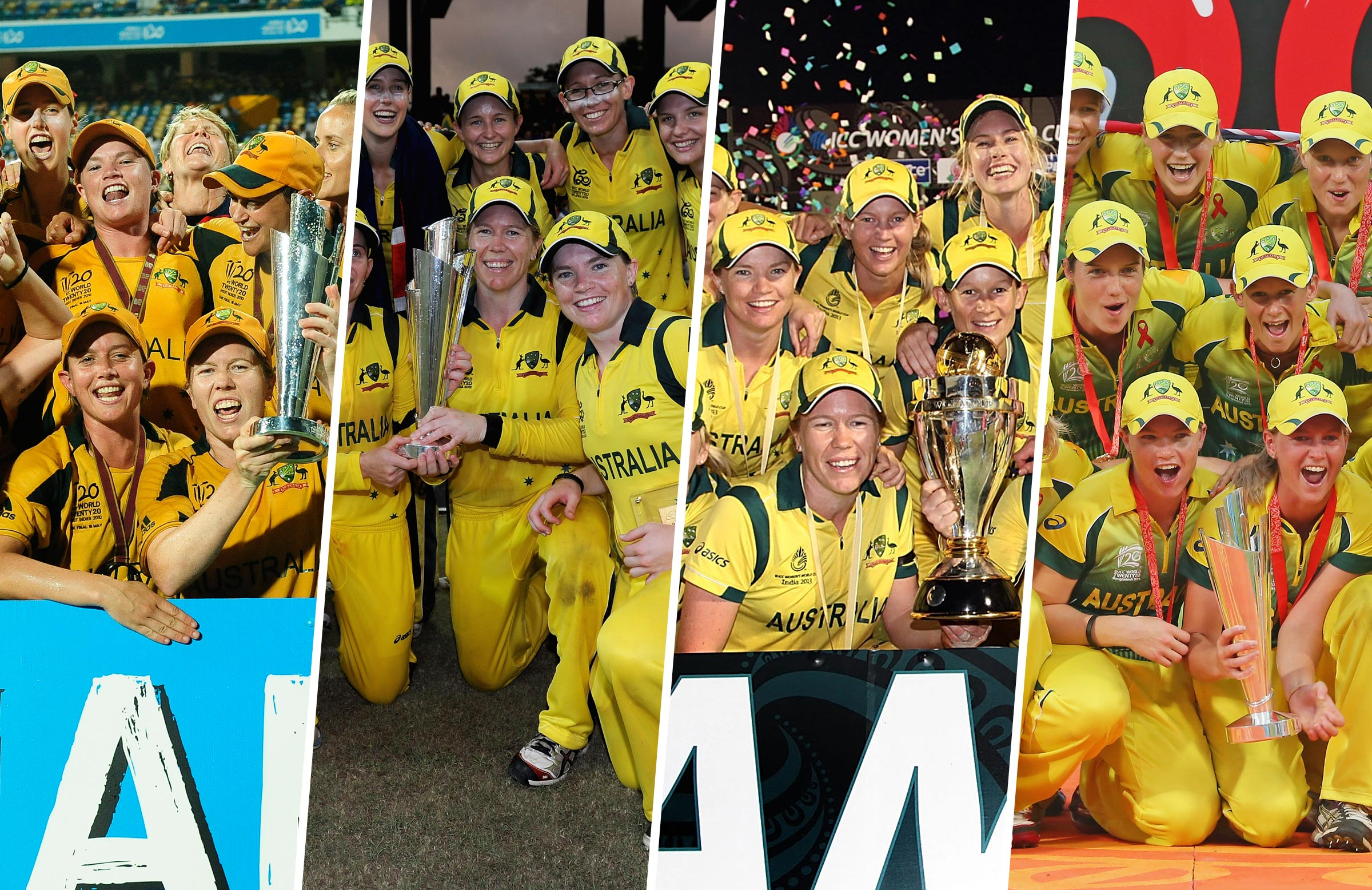 Duffin has been part of four World Cup-winning Aussie teams // Getty