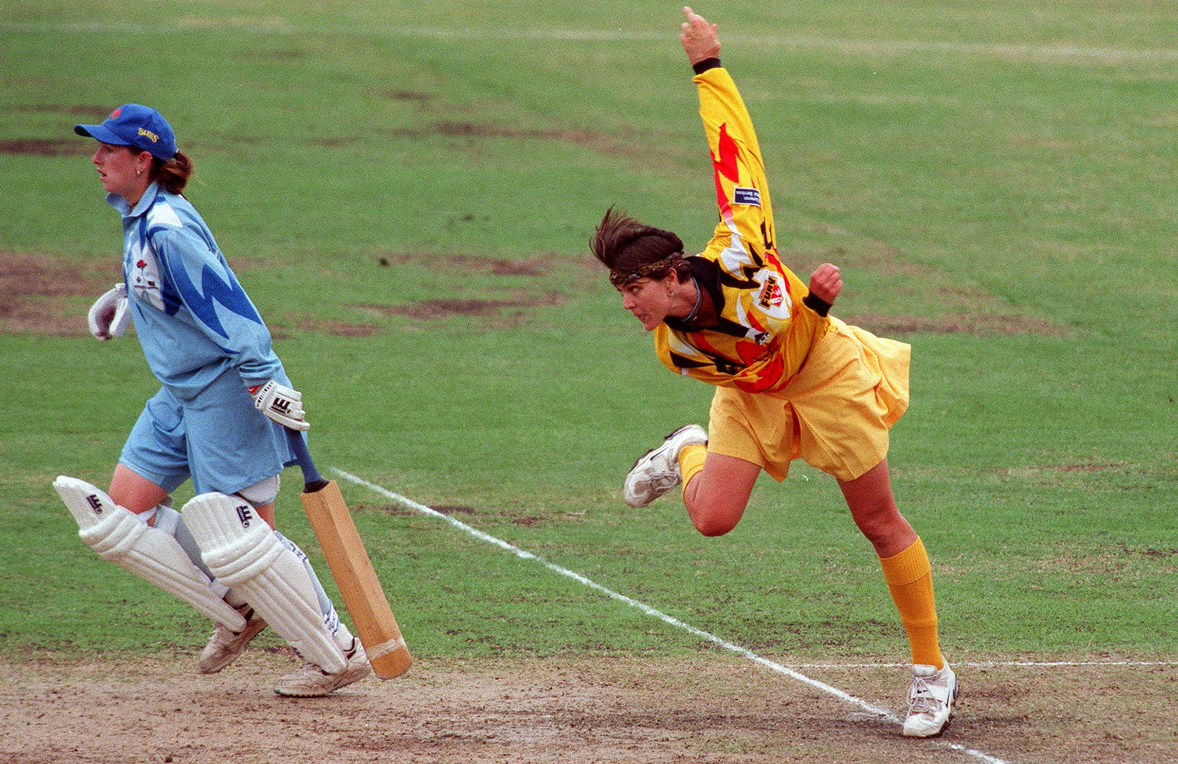 Zoe Goss at the peak of her cricketing powers // Getty